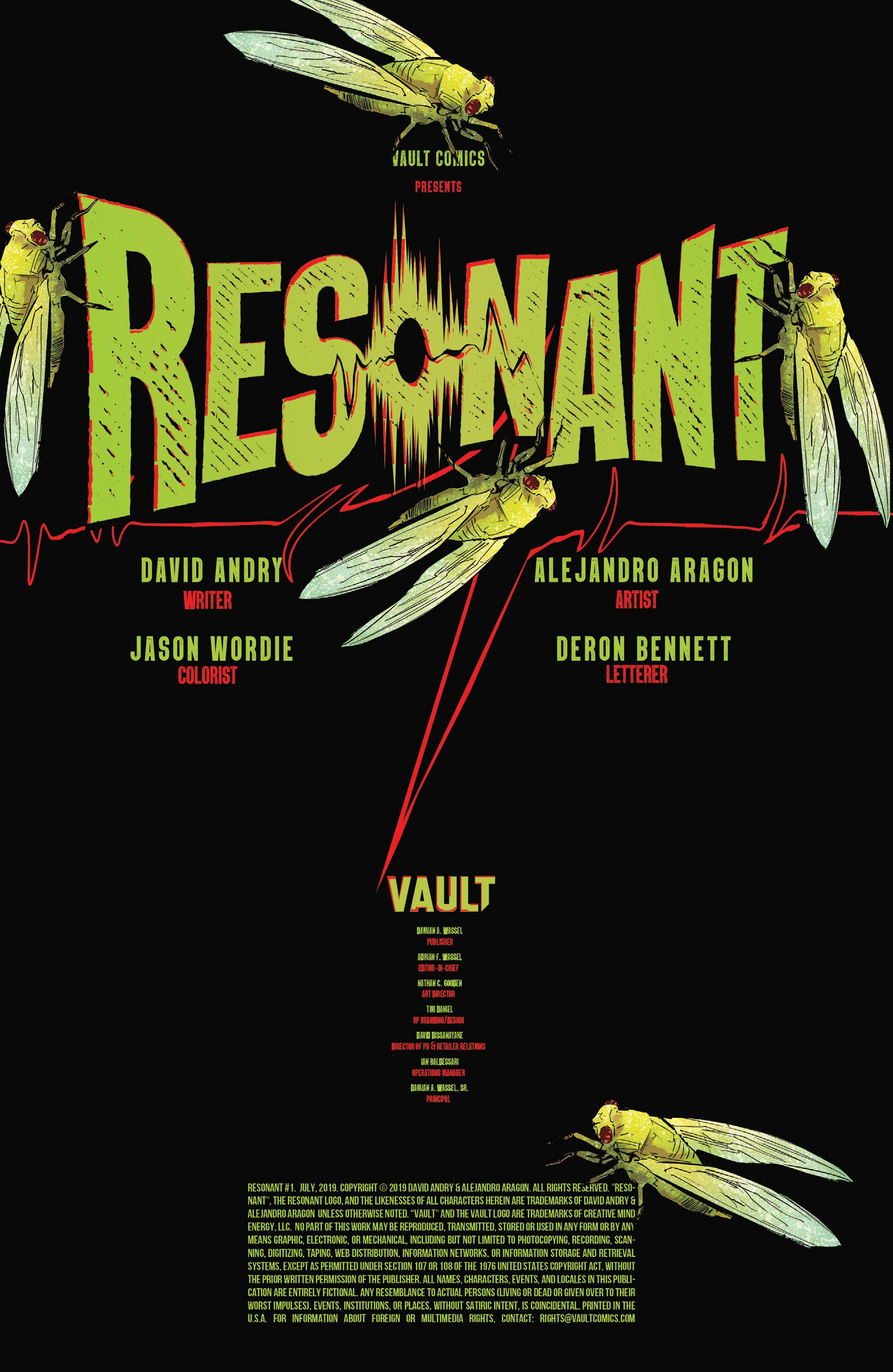 Read online Resonant comic -  Issue #1 - 2
