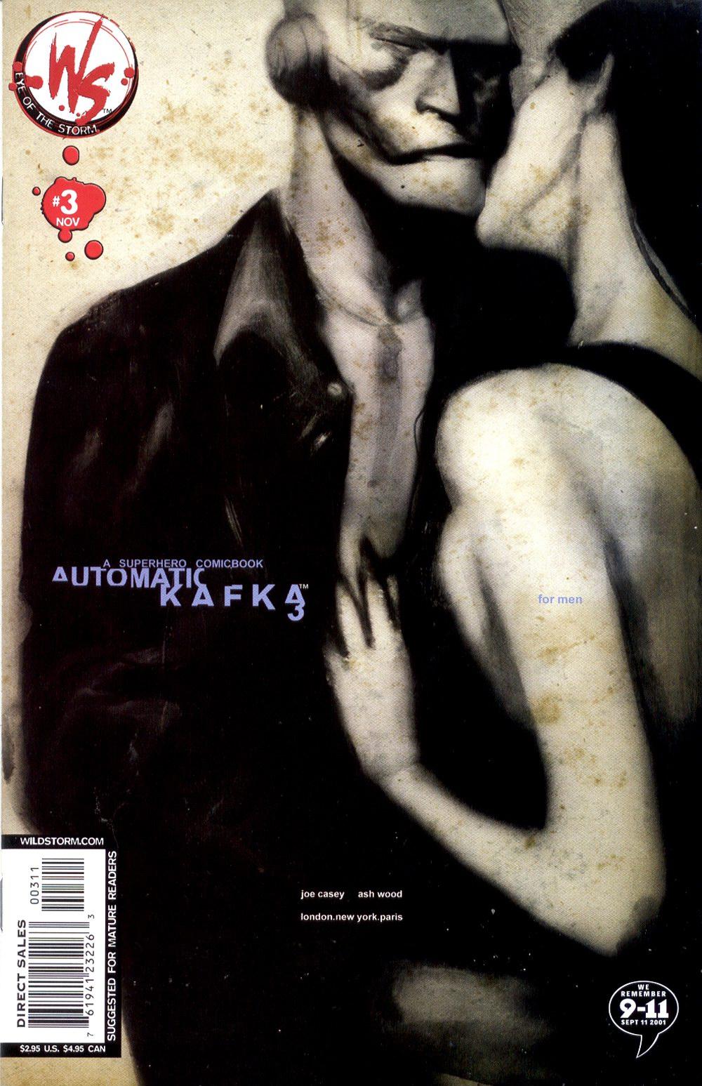 Read online Automatic Kafka comic -  Issue #3 - 2
