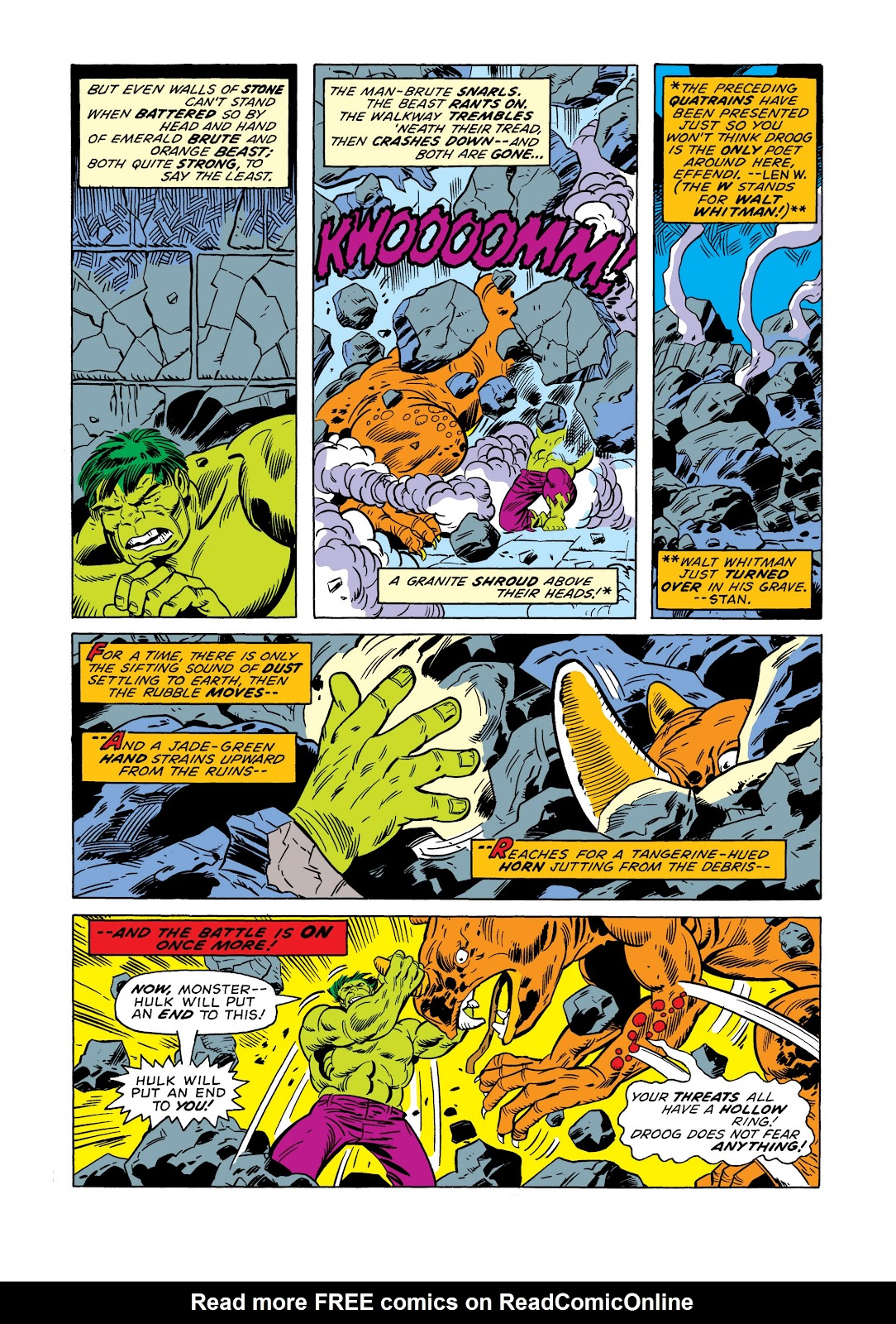 Read online Marvel Masterworks: The Incredible Hulk comic -  Issue # TPB 11 (Part 1) - 97