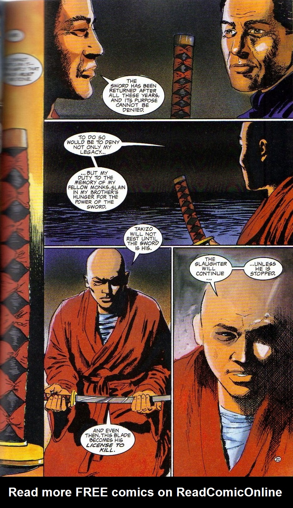 Read online Shado: Song of the Dragon comic -  Issue #4 - 23