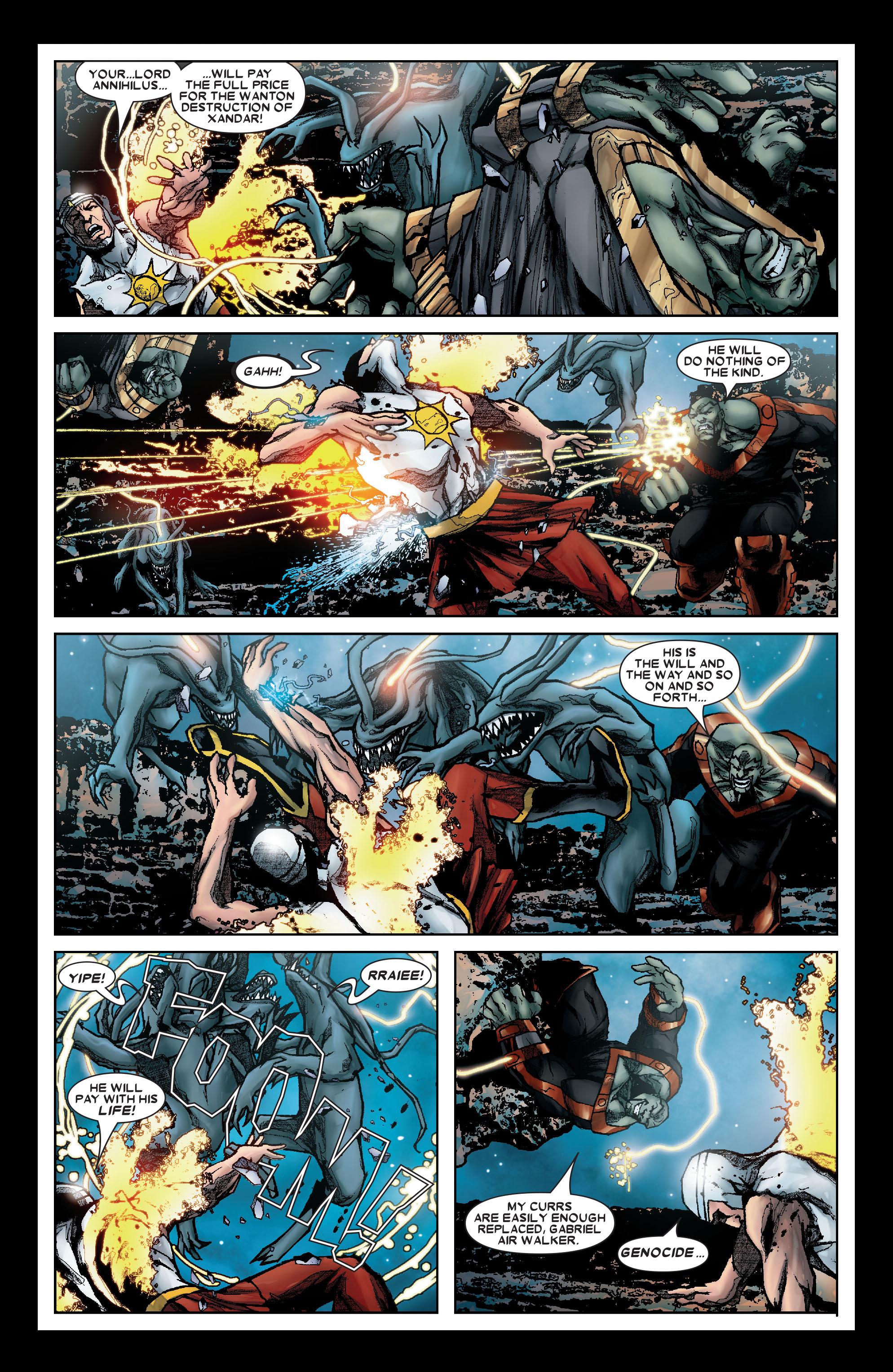 Read online Annihilation: Silver Surfer comic -  Issue #1 - 6