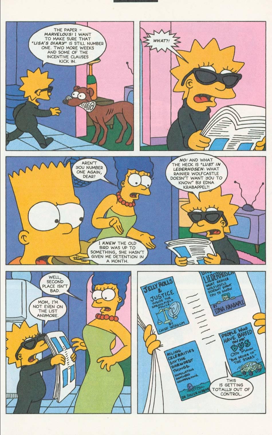 Read online Simpsons Comics comic -  Issue #9 - 12
