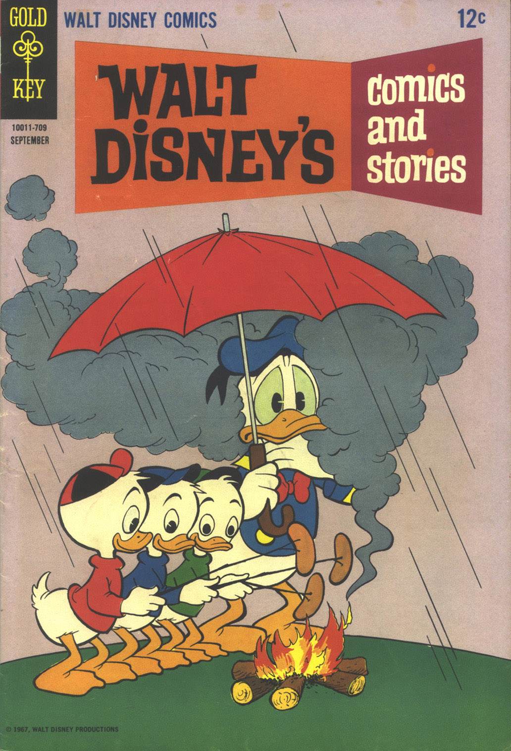 Walt Disneys Comics and Stories 324 Page 1