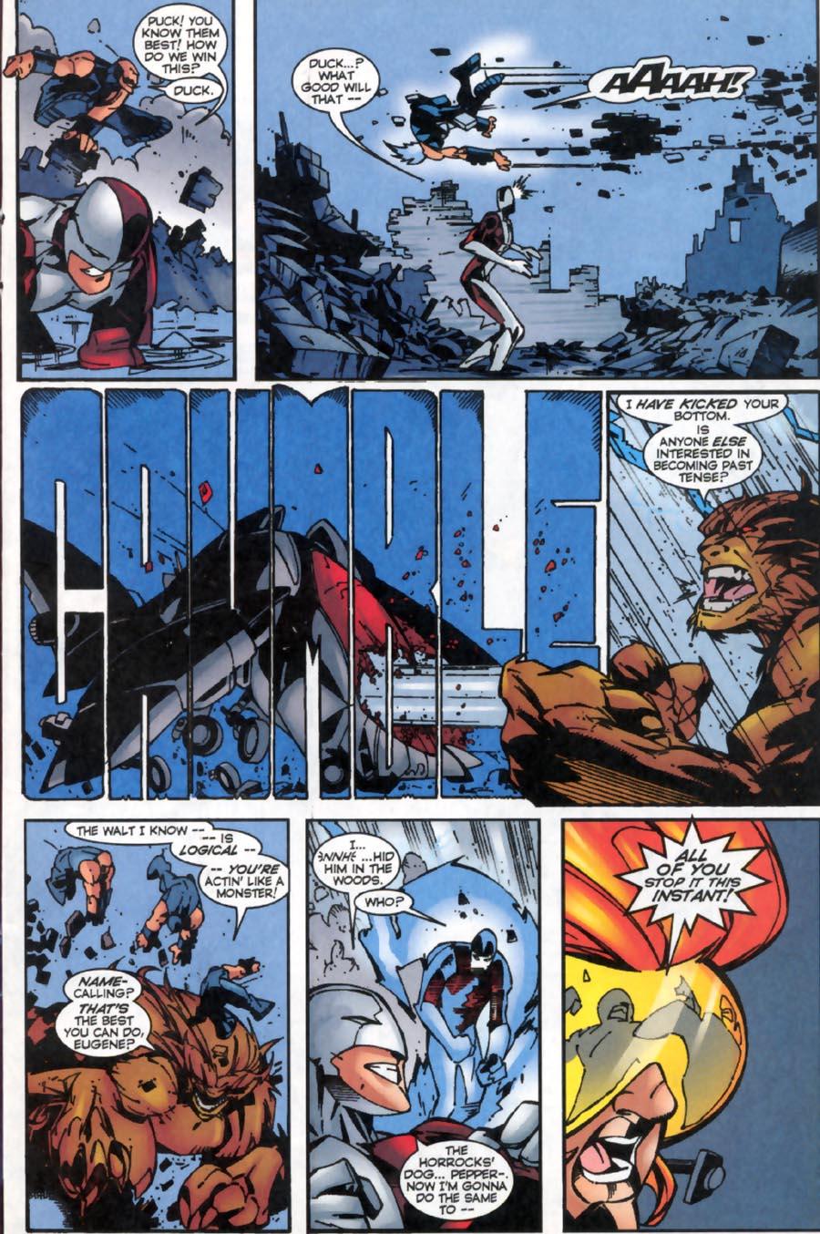 Read online Alpha Flight (1997) comic -  Issue #19 - 8