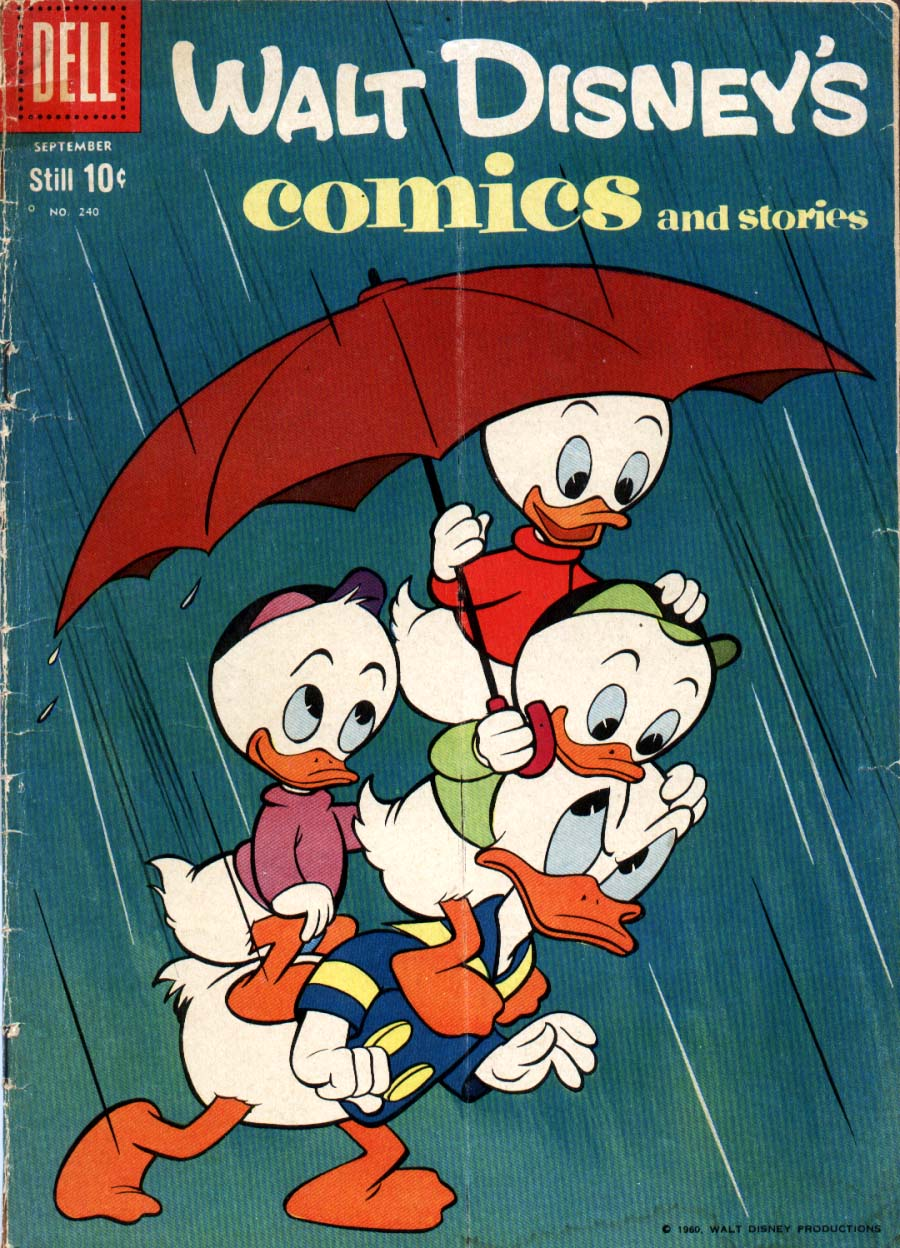 Walt Disney's Comics and Stories issue 240 - Page 1