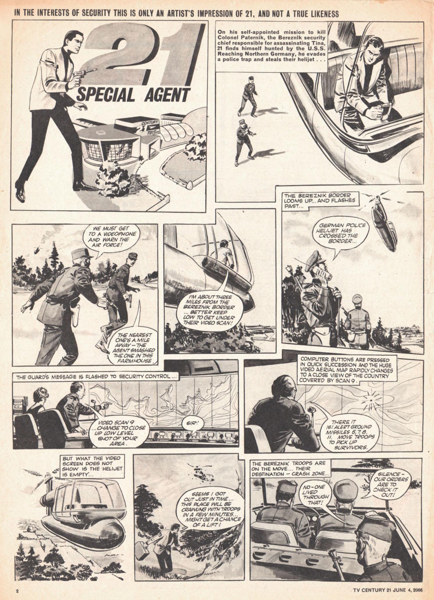 Read online TV Century 21 (TV 21) comic -  Issue #72 - 2