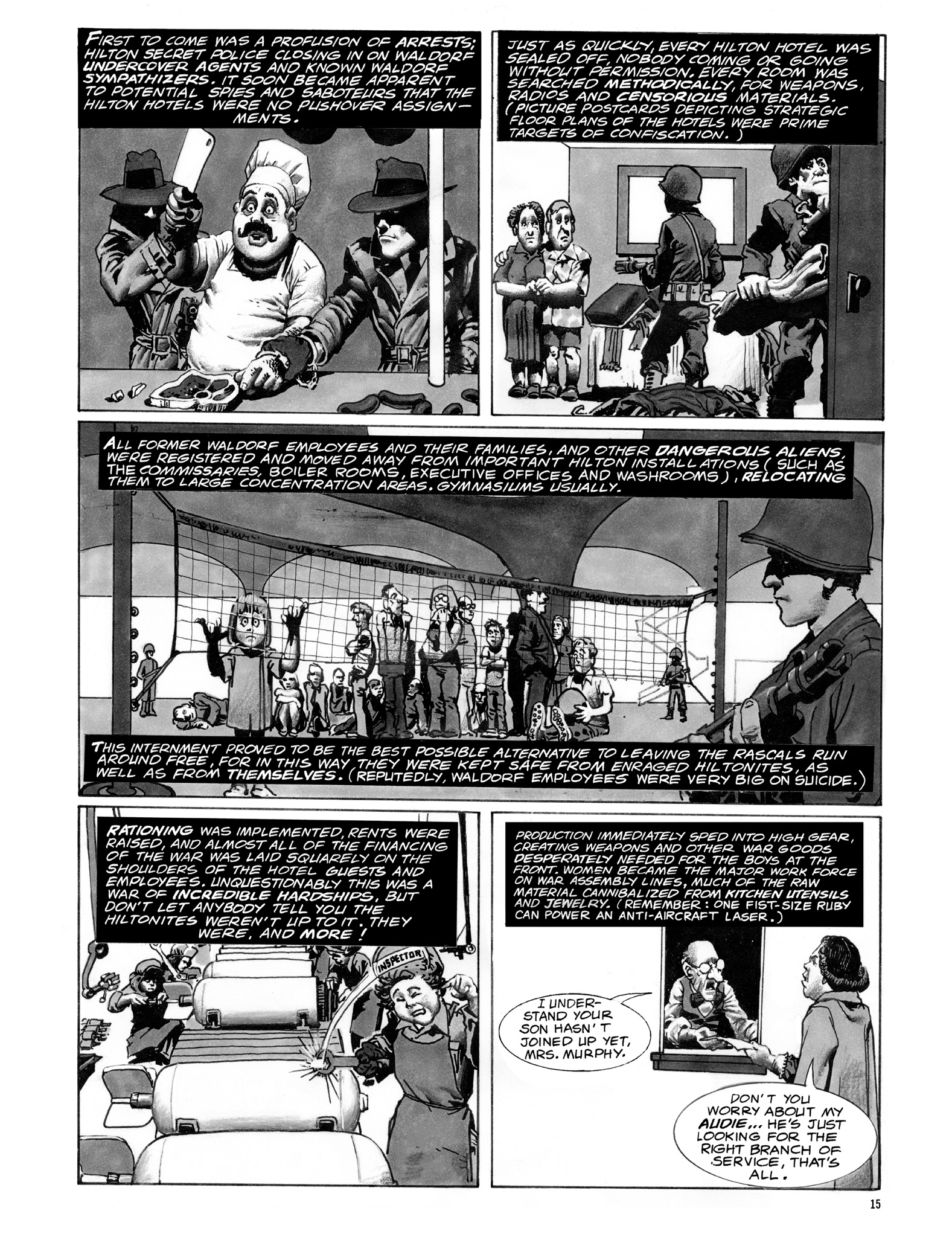 Read online Eerie Archives comic -  Issue # TPB 18 - 16