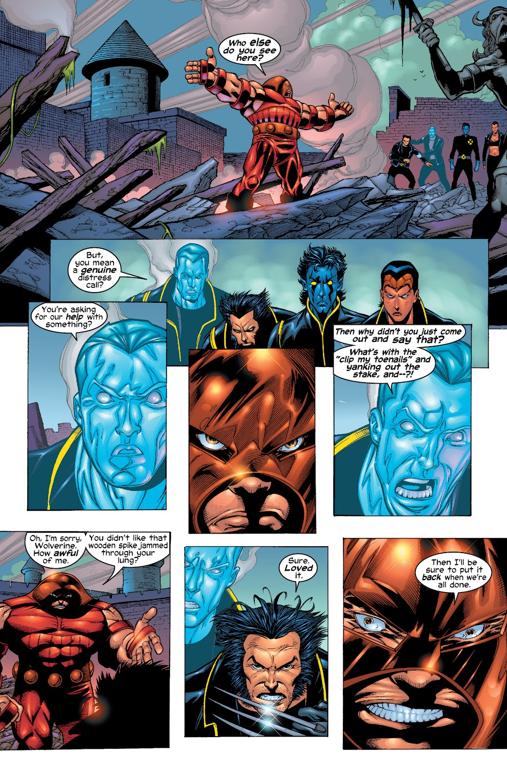Read online X-Men: Unstoppable comic -  Issue # TPB (Part 1) - 35