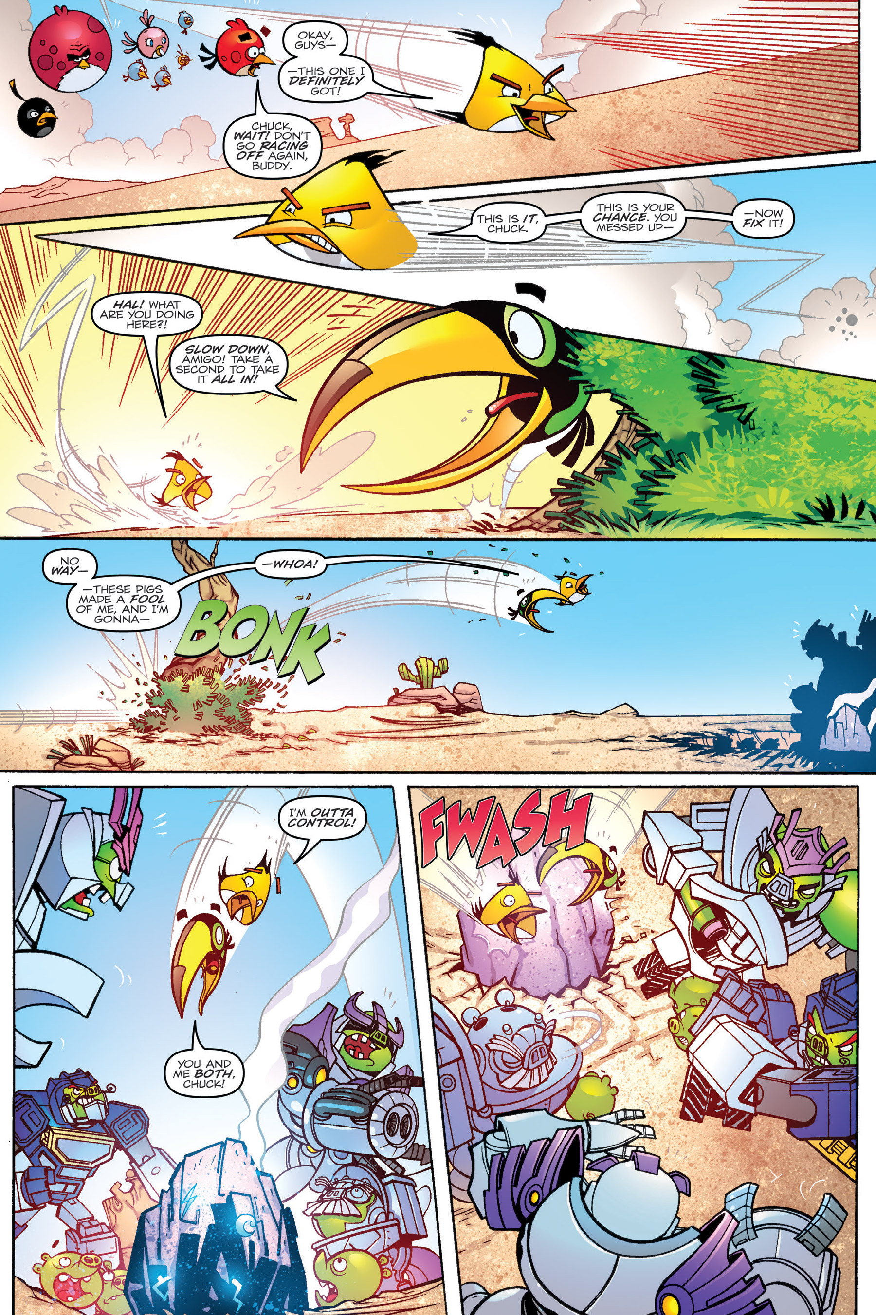 Read online Angry Birds Transformers: Age of Eggstinction comic -  Issue # Full - 22