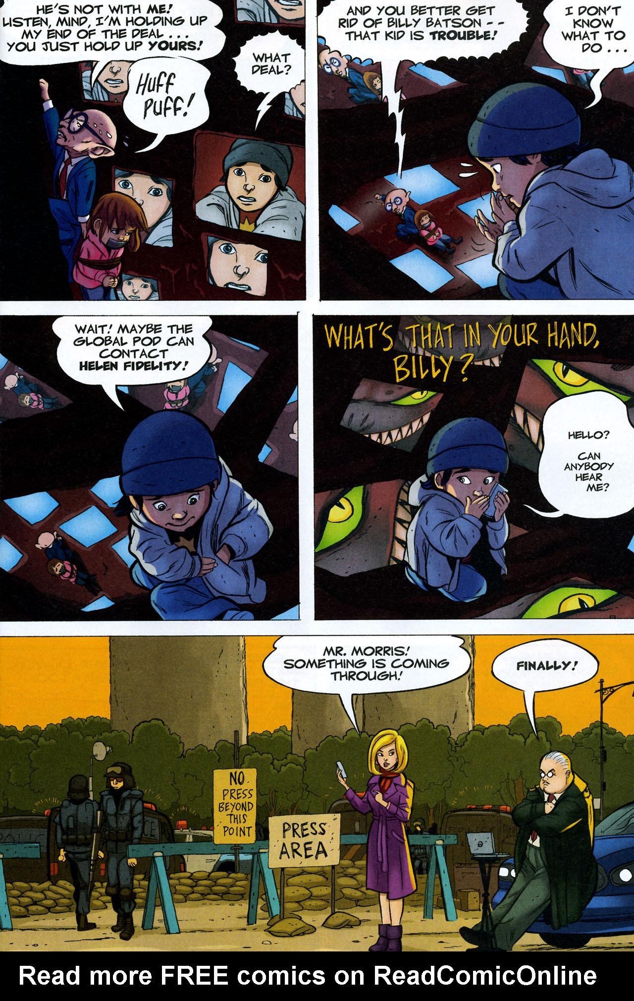 Read online Shazam!: The Monster Society of Evil comic -  Issue #4 - 11