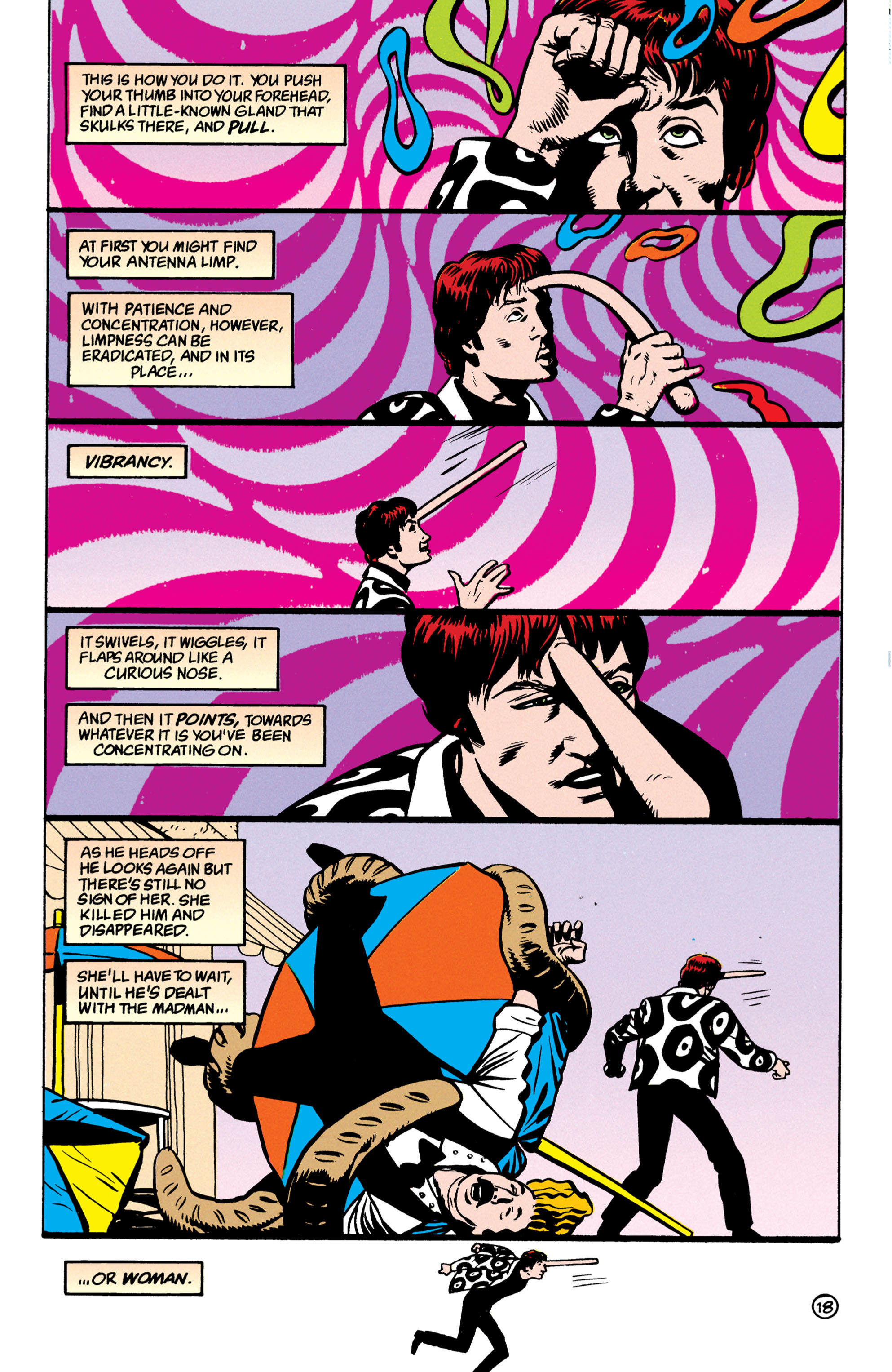 Read online Shade, the Changing Man comic -  Issue #52 - 19