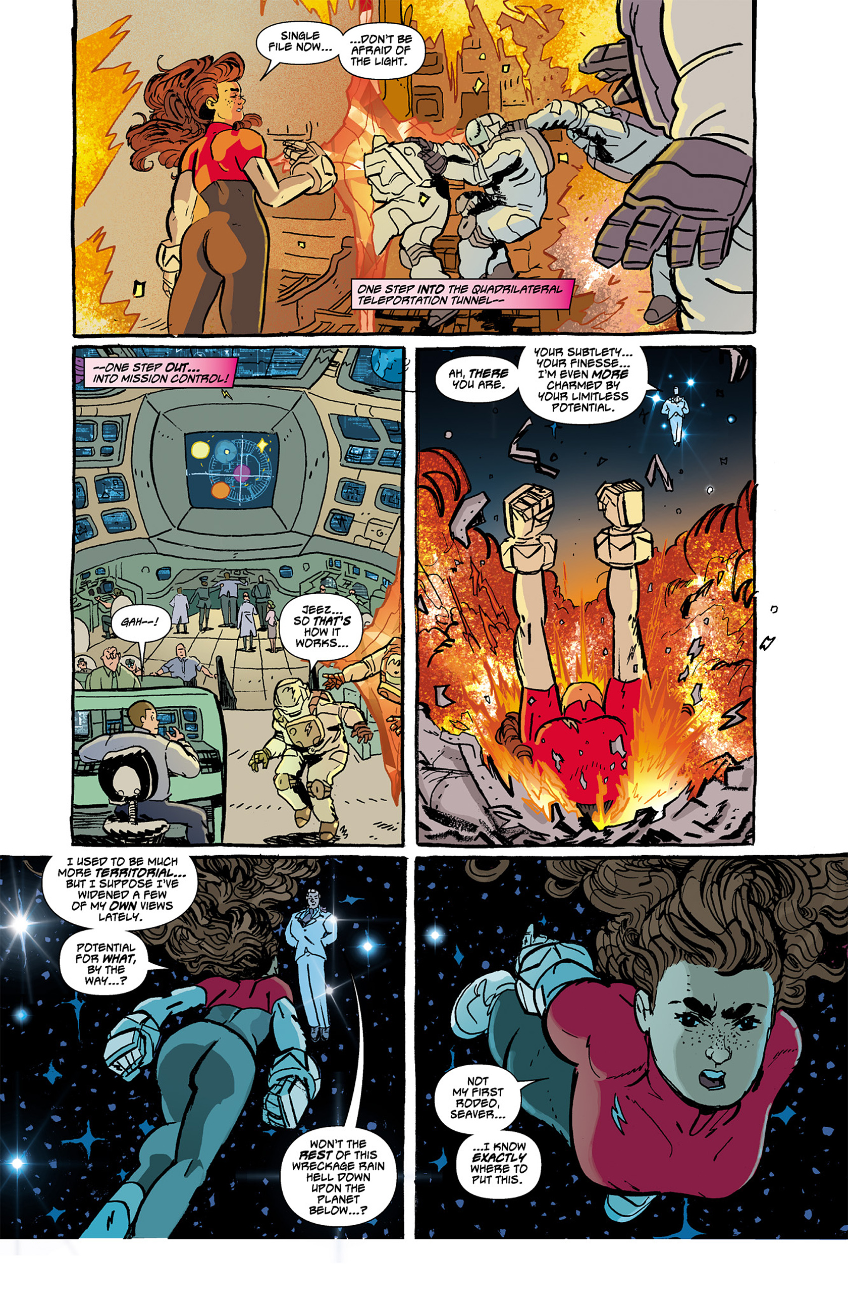 Read online Catalyst Comix comic -  Issue #4 - 15