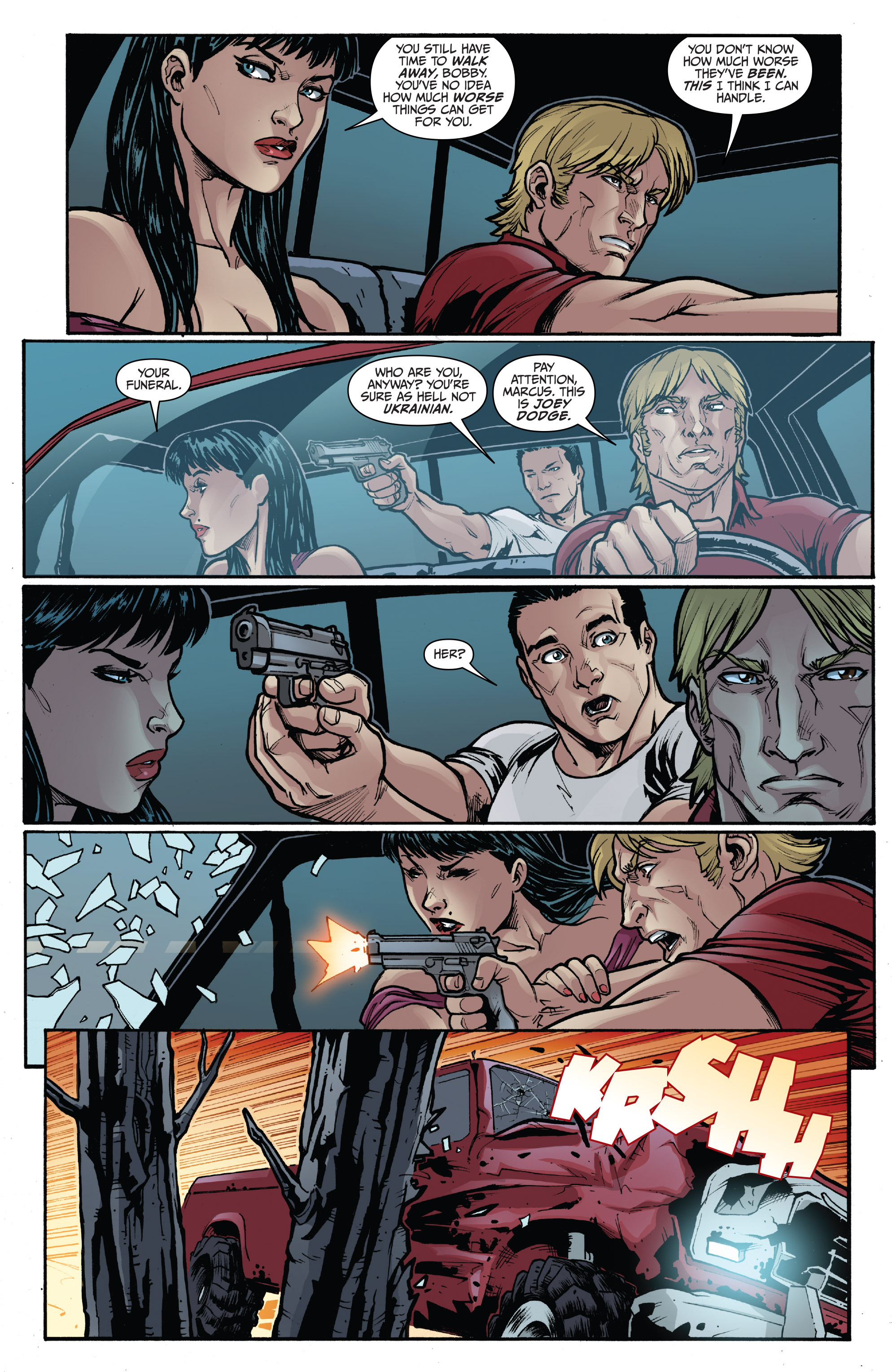 Read online 3 Guns comic -  Issue #3 - 21
