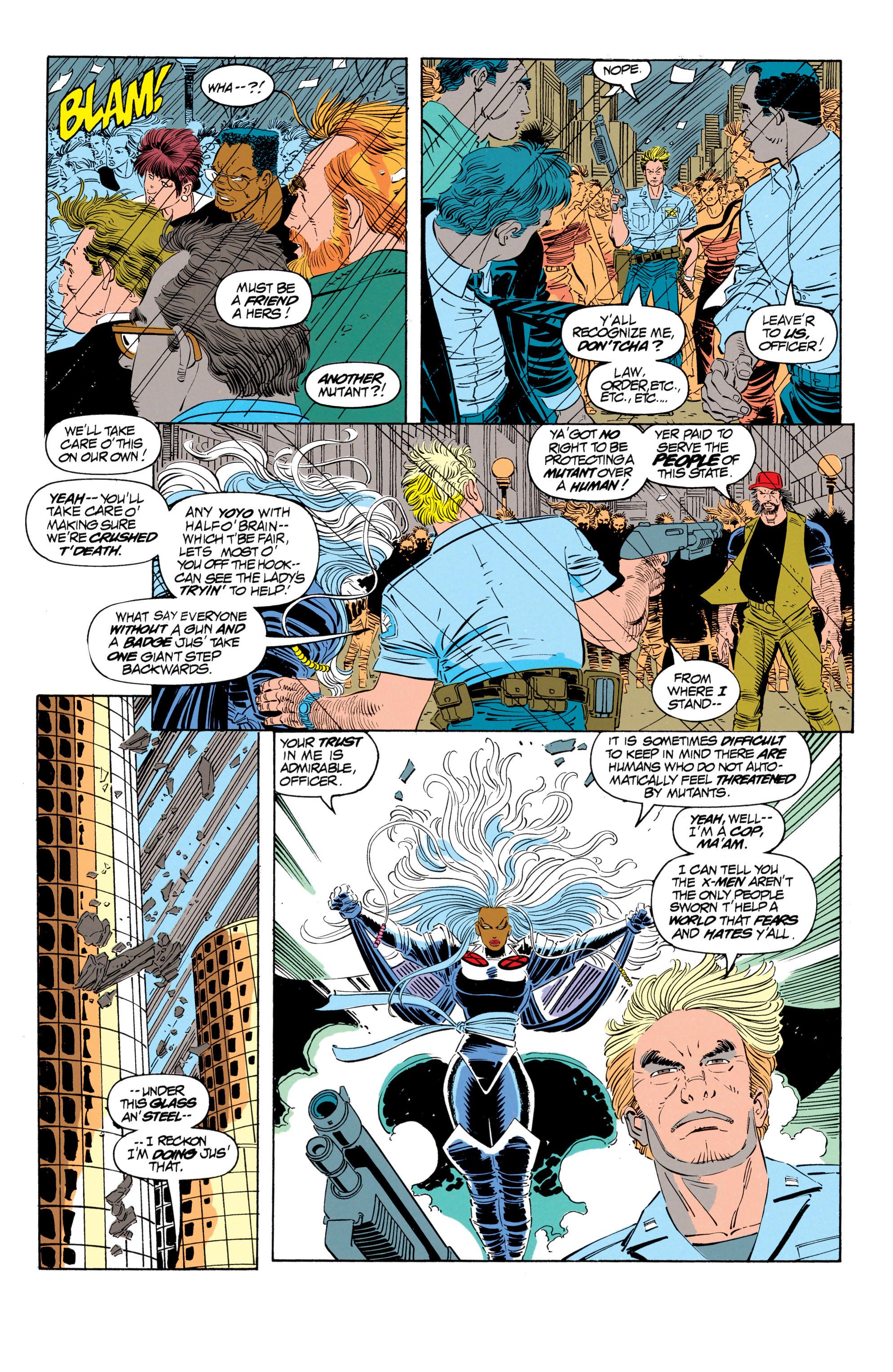 Read online Uncanny X-Men (1963) comic -  Issue #302 - 9