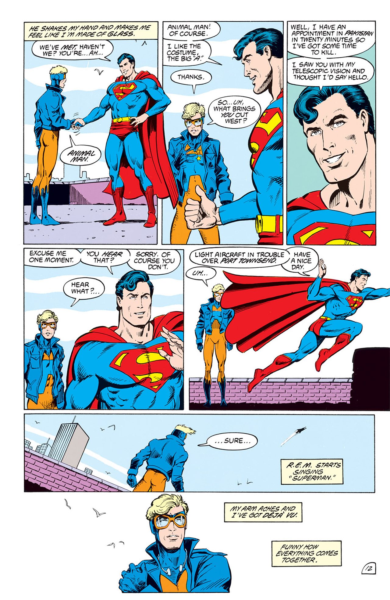 Read online Animal Man (1988) comic -  Issue #2 - 14