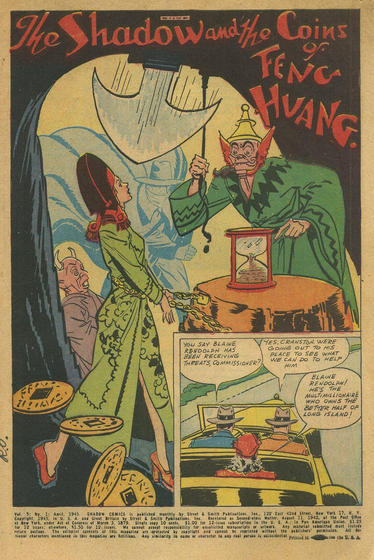 Read online Shadow Comics comic -  Issue #49 - 3