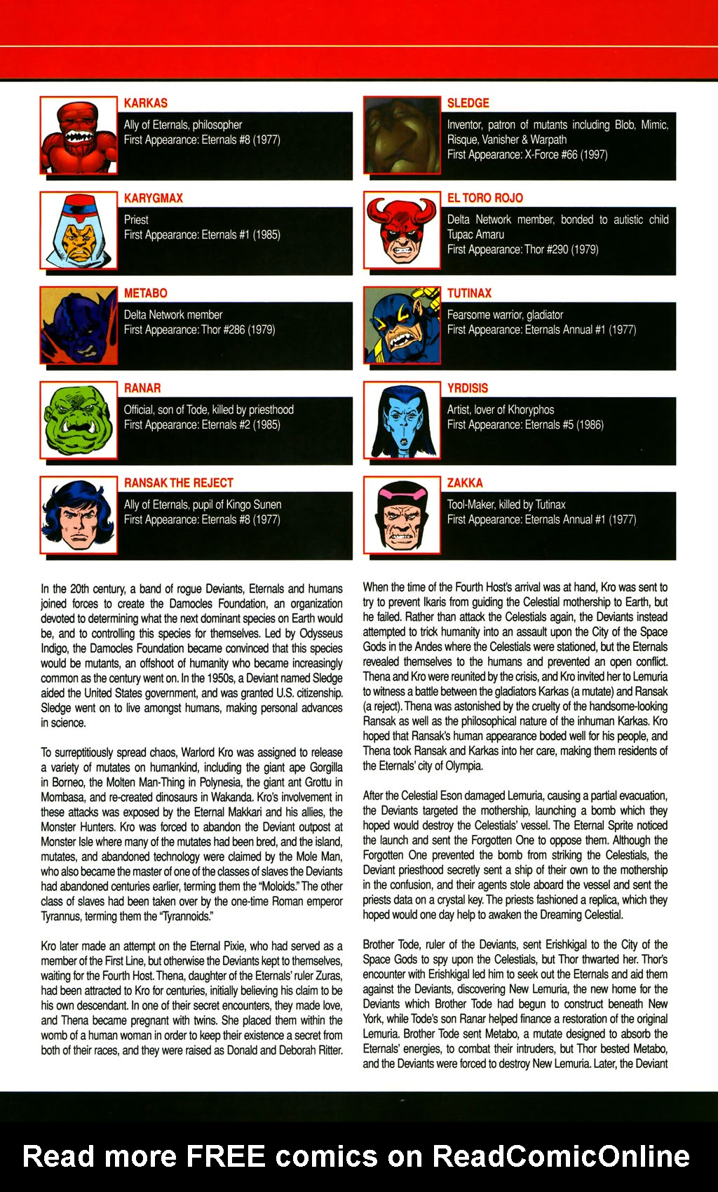 Read online All-New Official Handbook of the Marvel Universe A to Z comic -  Issue #3 - 45