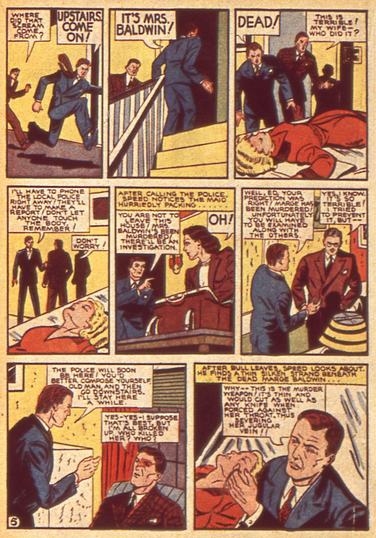 Read online Detective Comics (1937) comic -  Issue #49 - 42