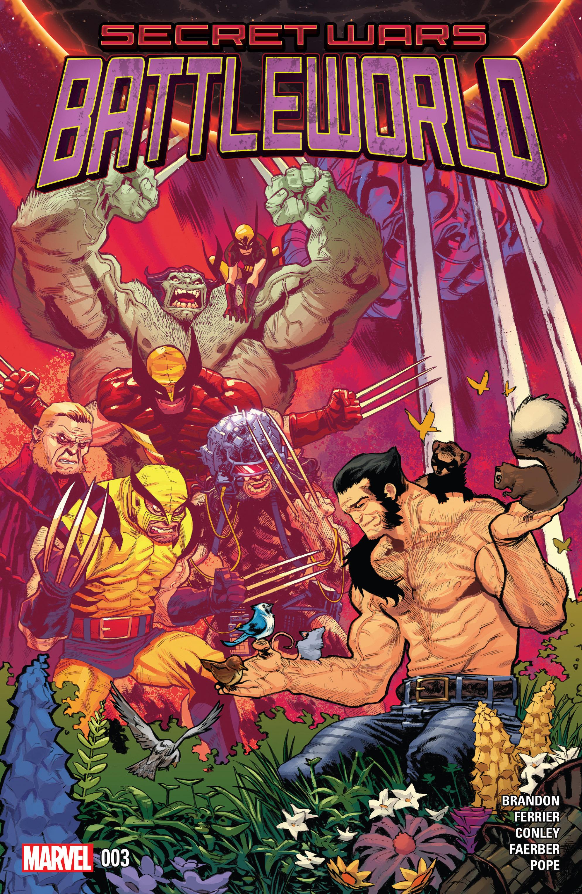 Read online Secret Wars: Battleworld comic -  Issue #3 - 1