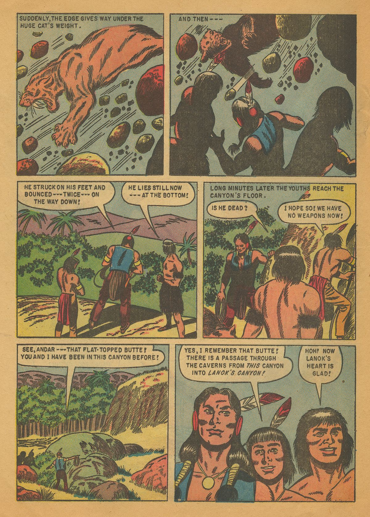 Read online Turok, Son of Stone comic -  Issue #4 - 24