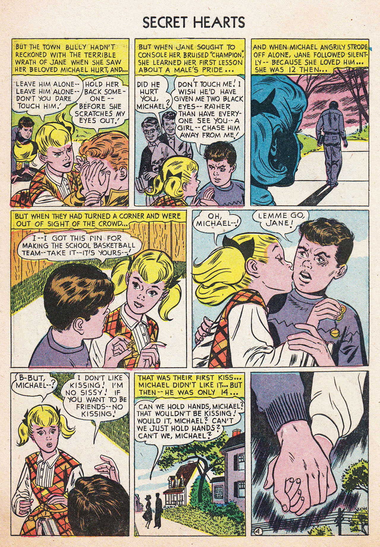 Read online Secret Hearts comic -  Issue #13 - 6