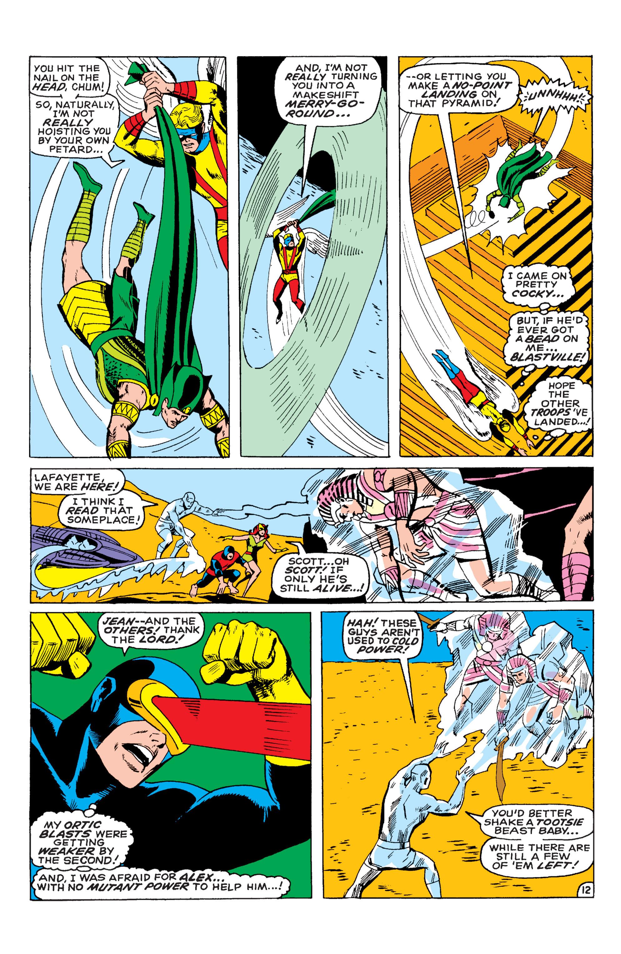 Uncanny X-Men (1963) 55 Page 12