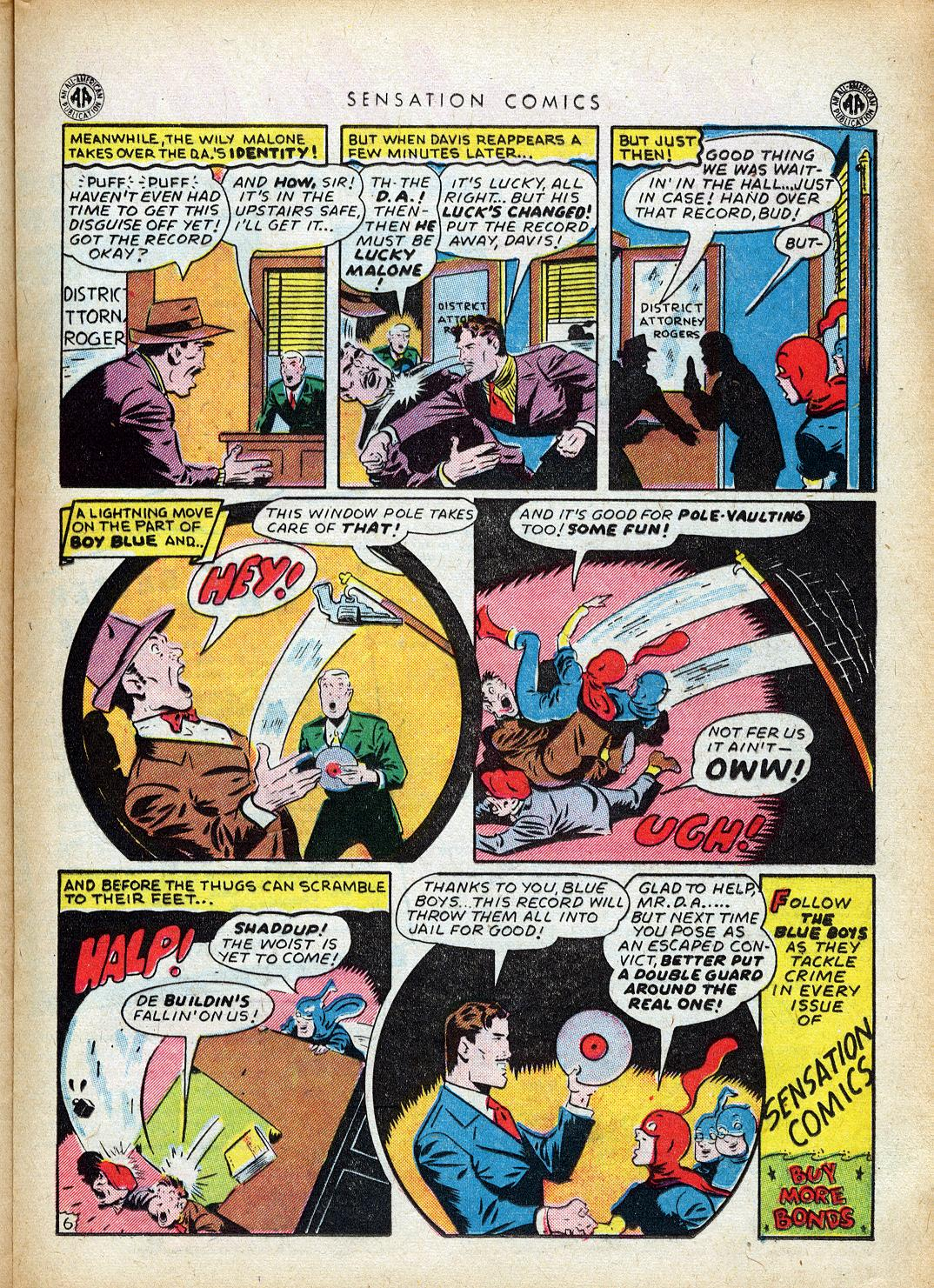 Read online Sensation (Mystery) Comics comic -  Issue #40 - 25
