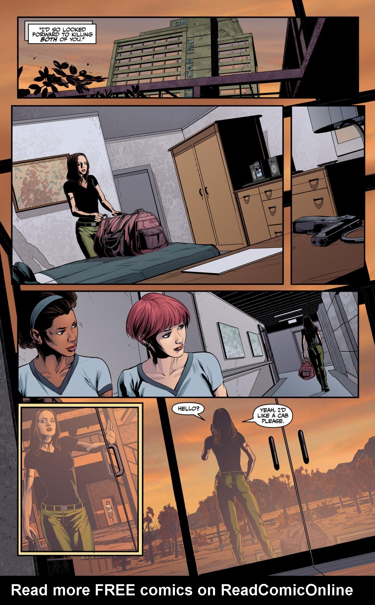 Read online Angel & Faith Season 10 comic -  Issue #4 - 4