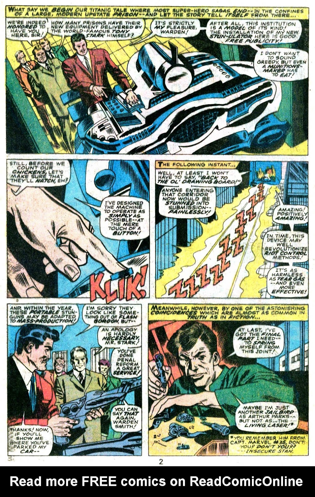 Giant-Size Avengers (1974) issue 5 - Page 3