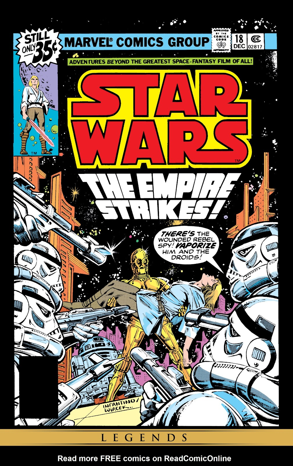 Read online Star Wars Legends: The Original Marvel Years - Epic Collection comic -  Issue # TPB 1 (Part 4) - 15