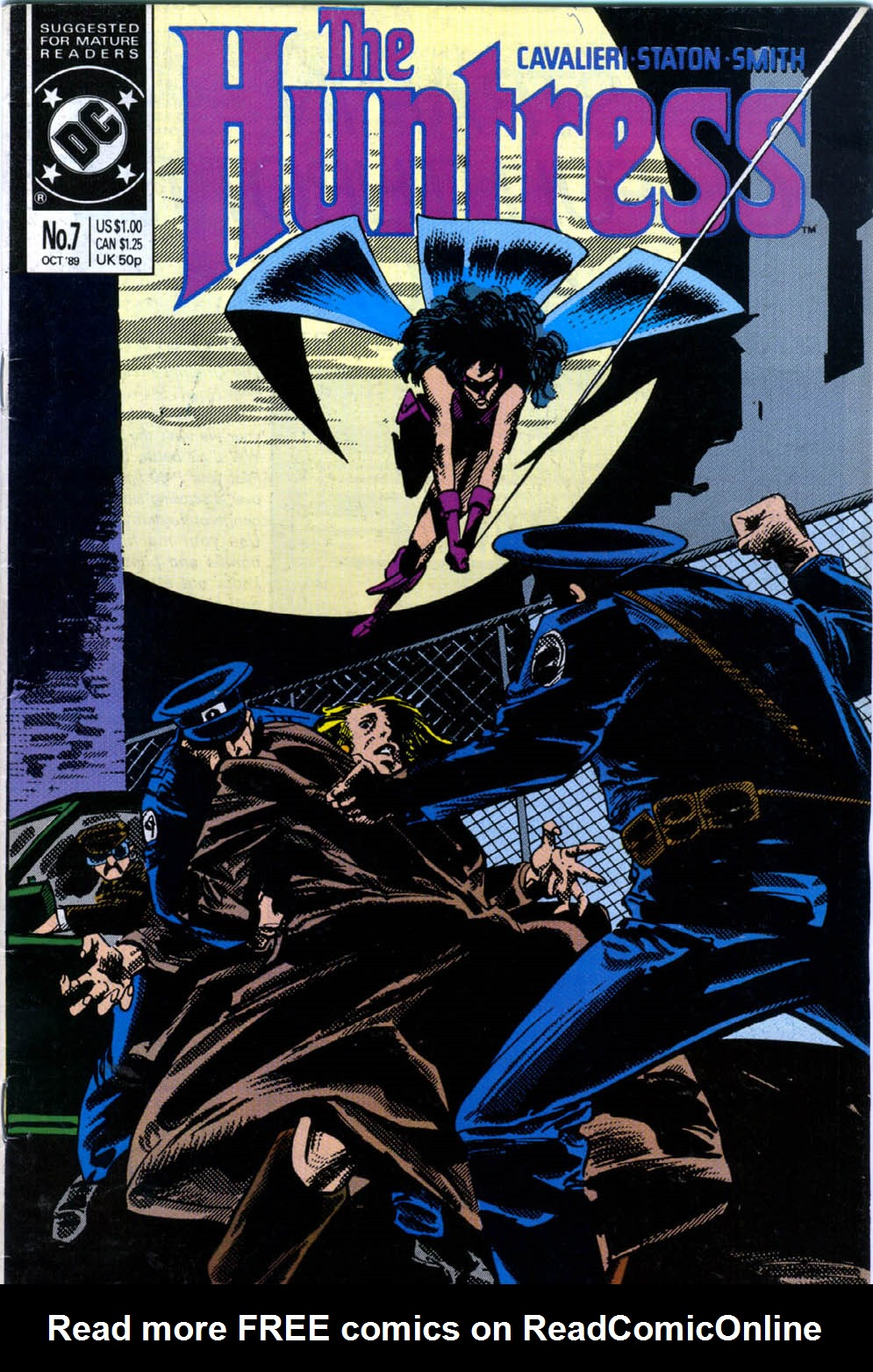 The Huntress (1989) issue 7 - Page 1