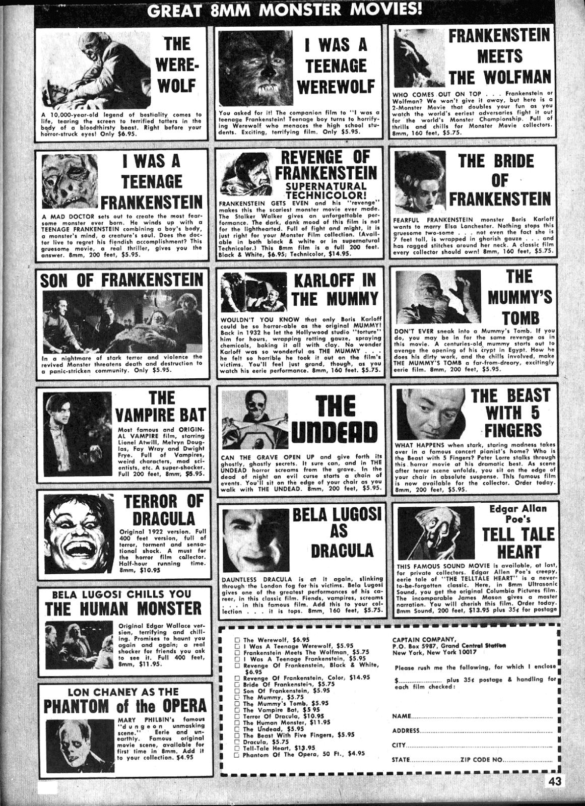 Creepy (1964) Issue #25 #25 - English 42