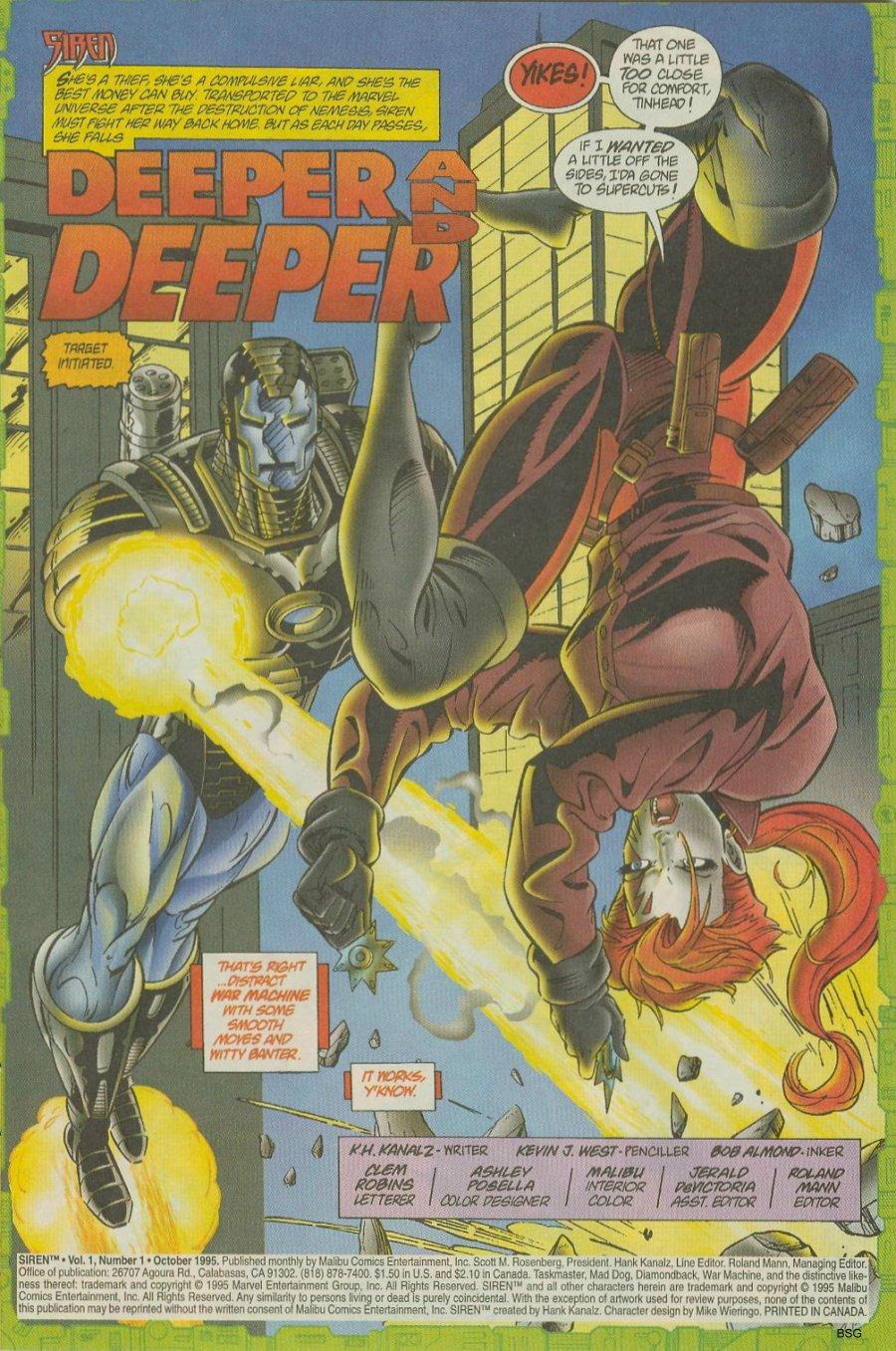 Read online Siren comic -  Issue #1 - 3