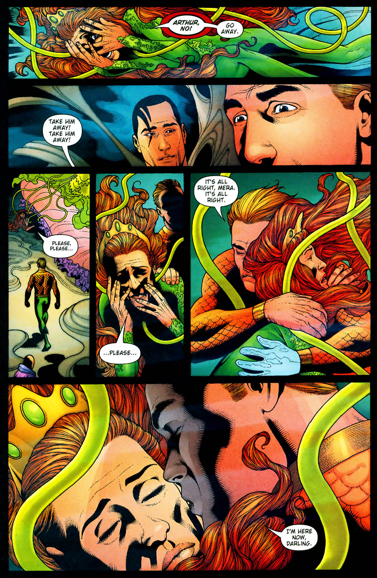 Read online Aquaman (2003) comic -  Issue #33 - 22