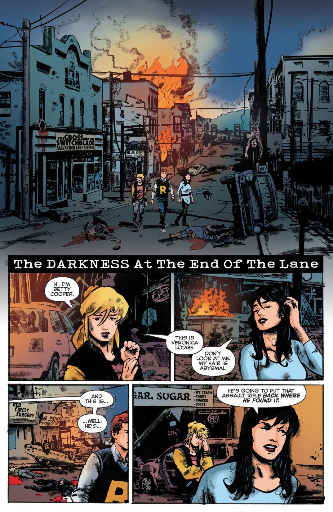 Archie vs. Predator II #1 #1 - English 3