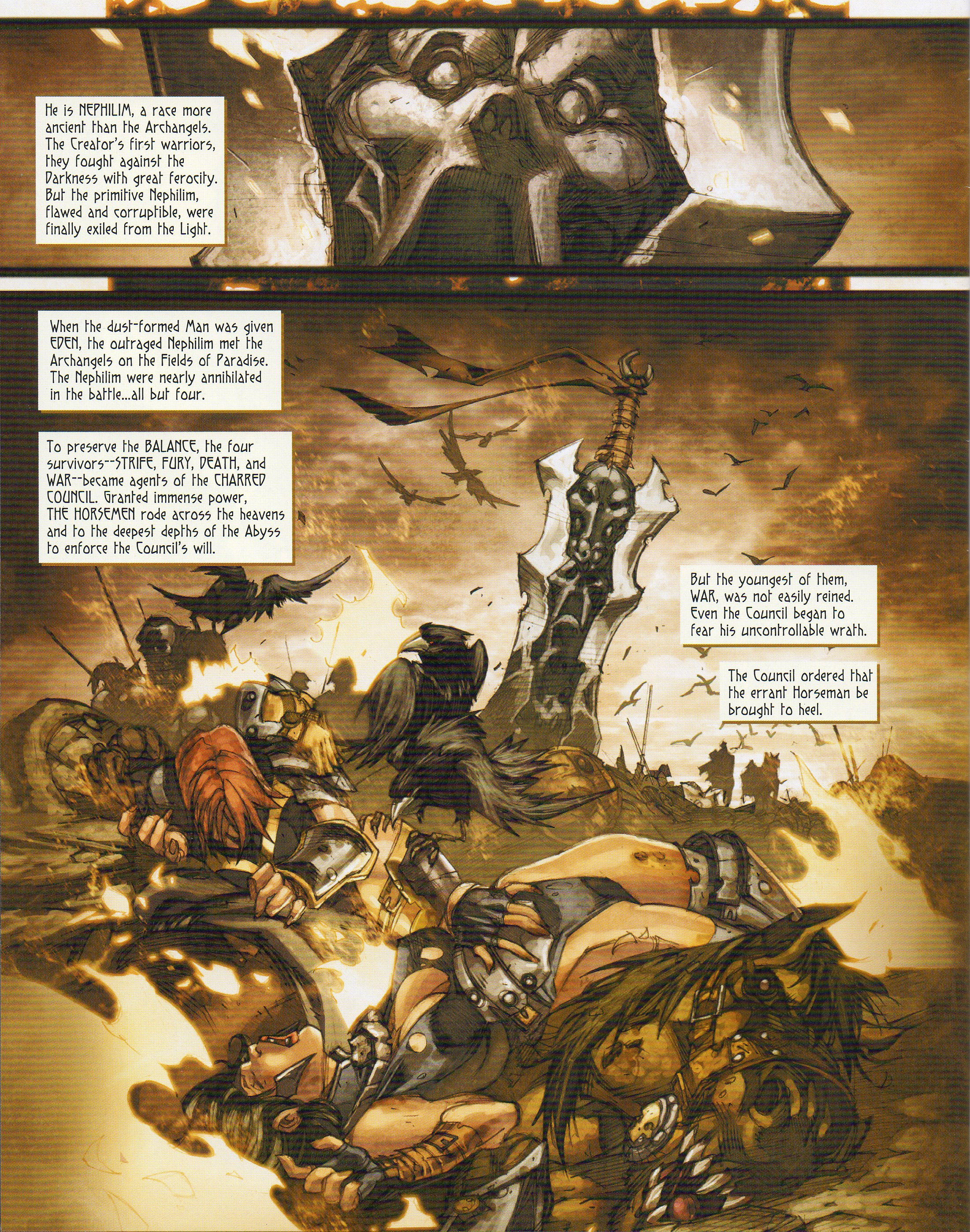 Read online Darksiders comic -  Issue # Full - 8