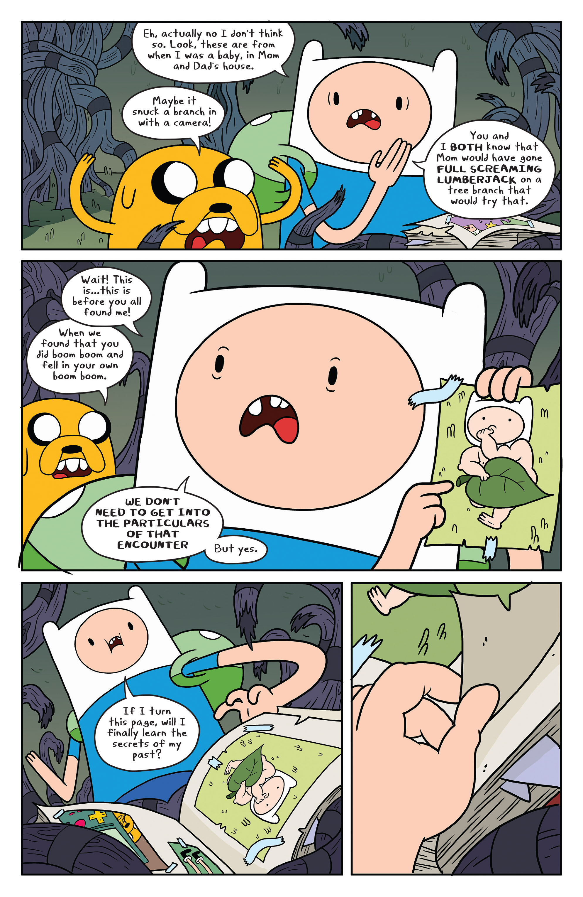 Read online Adventure Time comic -  Issue #50 - 11