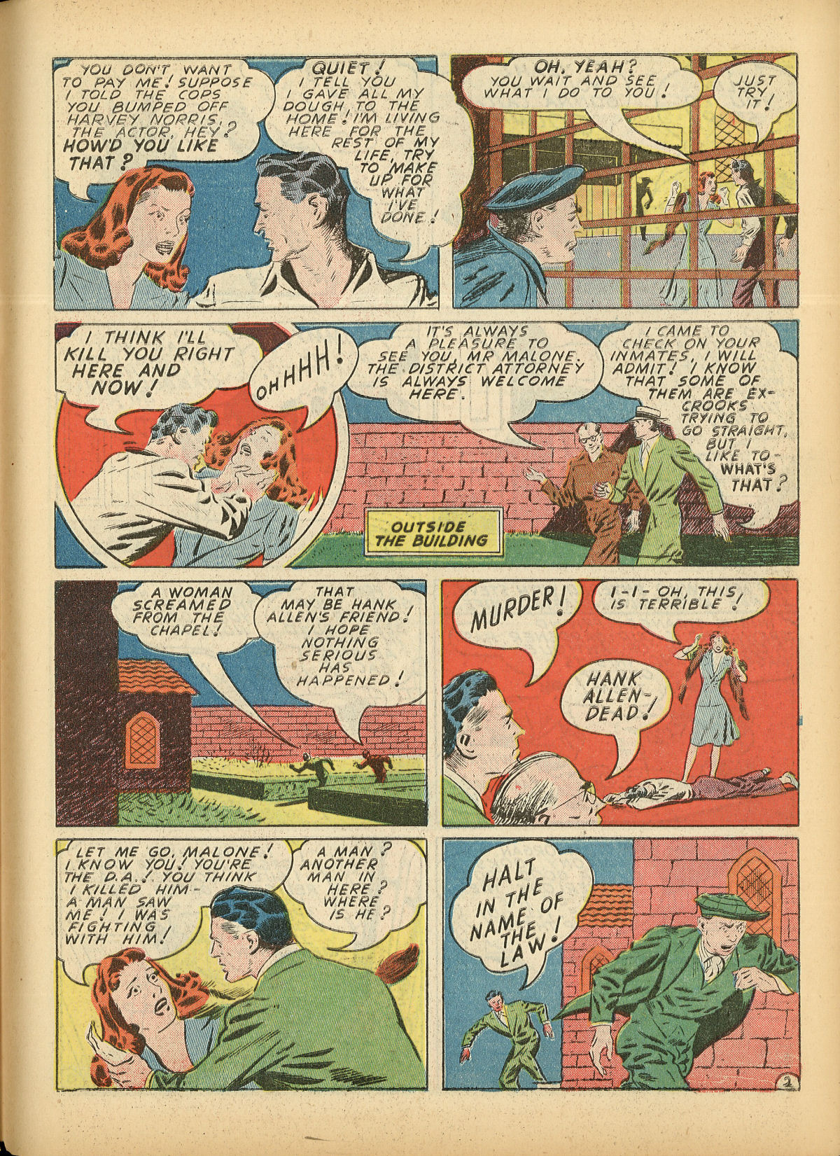 Read online Detective Comics (1937) comic -  Issue #55 - 53