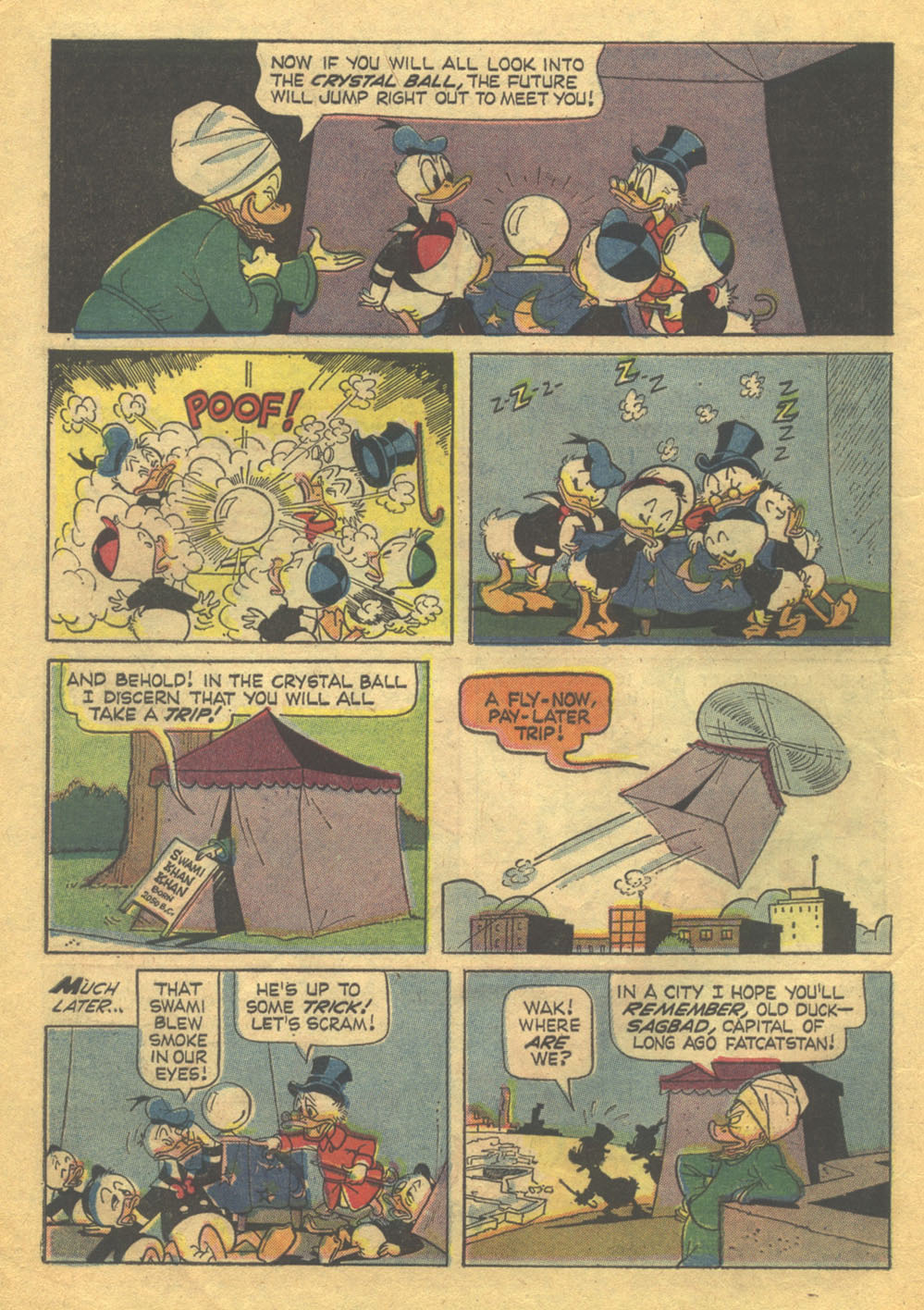 Read online Uncle Scrooge (1953) comic -  Issue #71 - 6