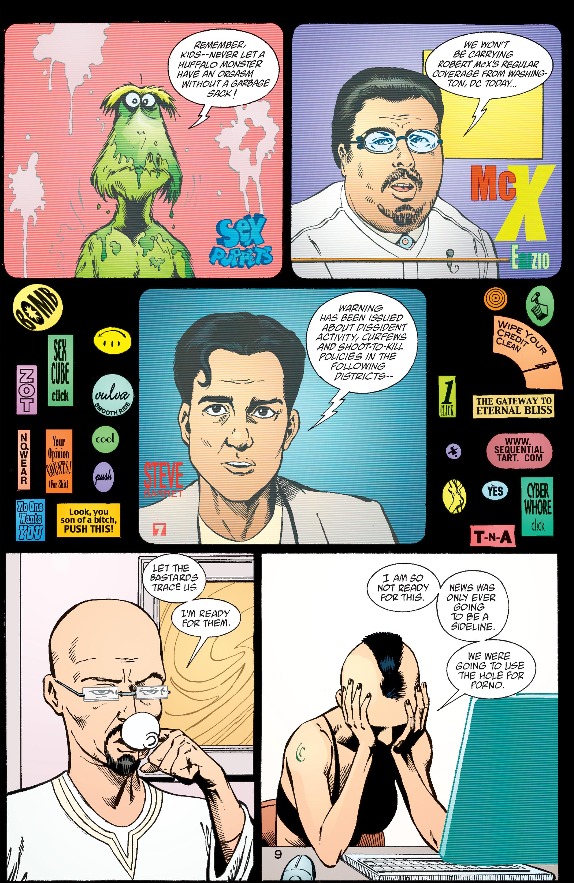 Read online Transmetropolitan comic -  Issue #57 - 10