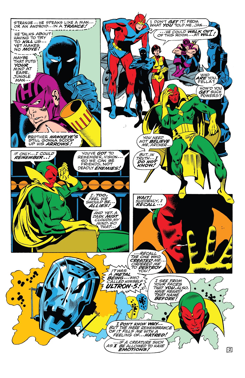 Read online Marvel Tales: Avengers comic -  Issue # Full - 38