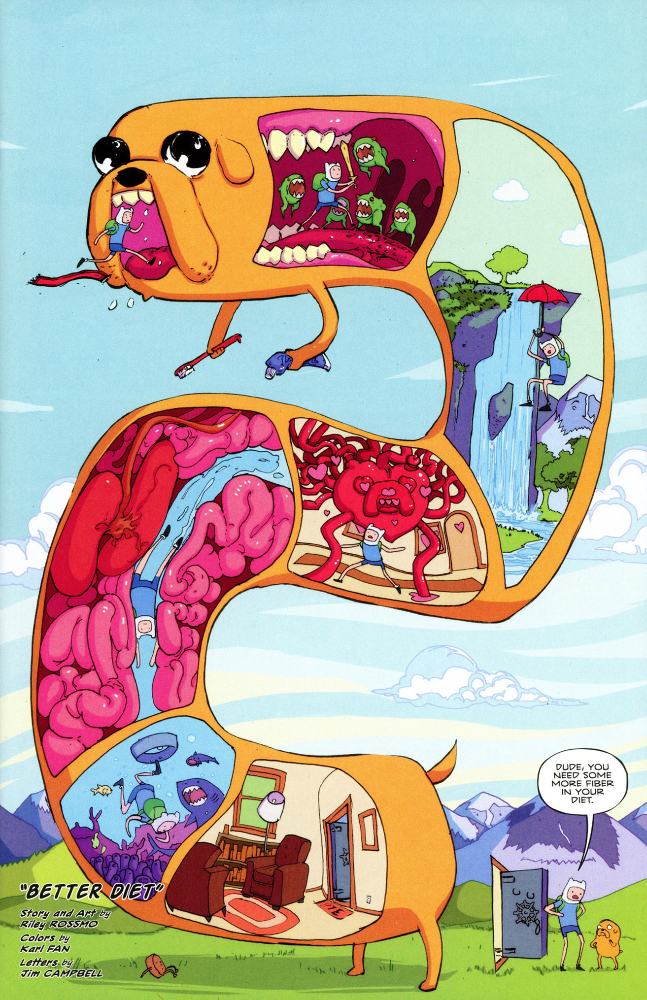 Read online Adventure Time Comics comic -  Issue #7 - 9