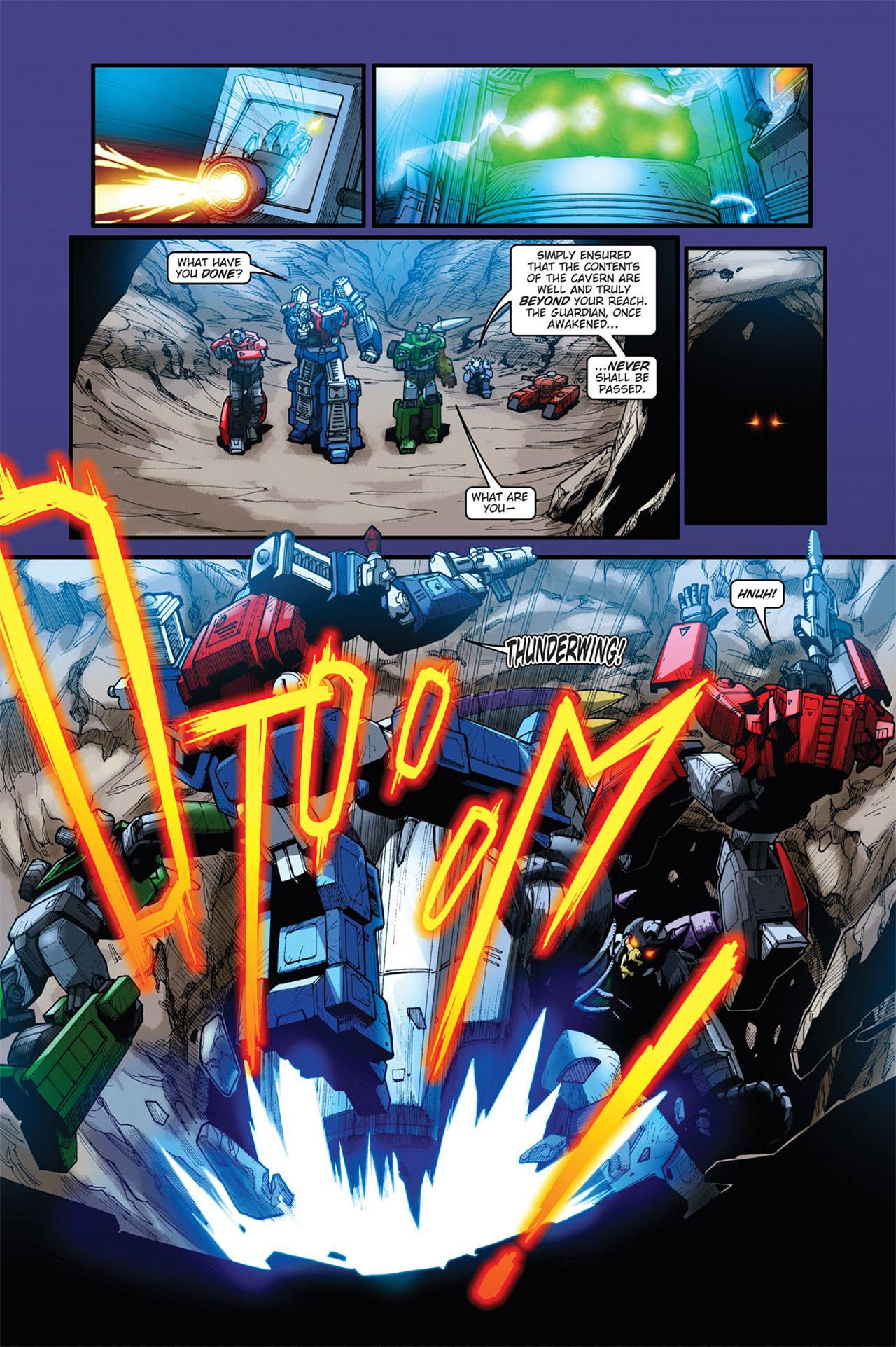 Read online Transformers Spotlight: Cyclonus comic -  Issue # Full - 24