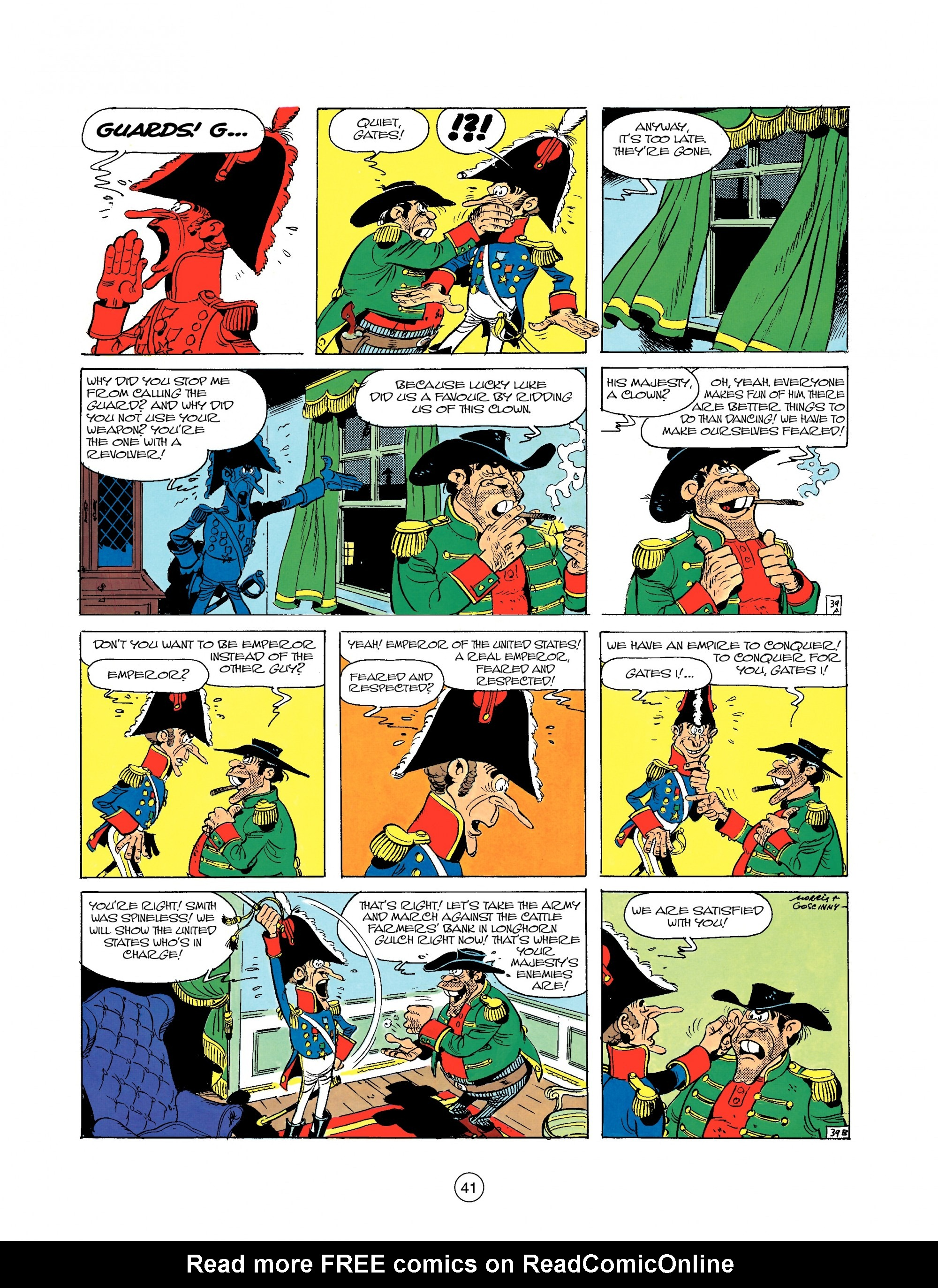 Read online A Lucky Luke Adventure comic -  Issue #22 - 41