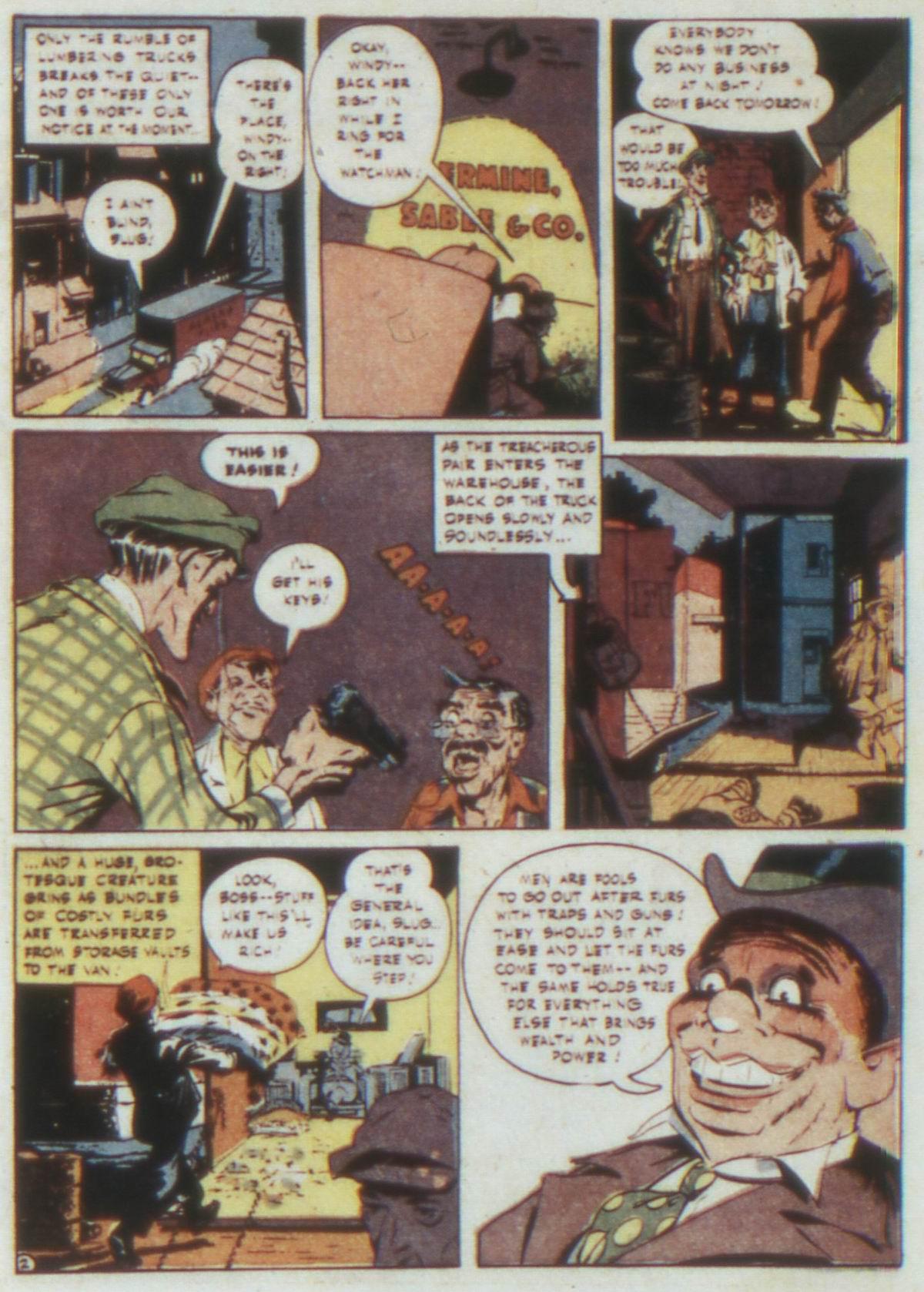 Read online Detective Comics (1937) comic -  Issue #74 - 4