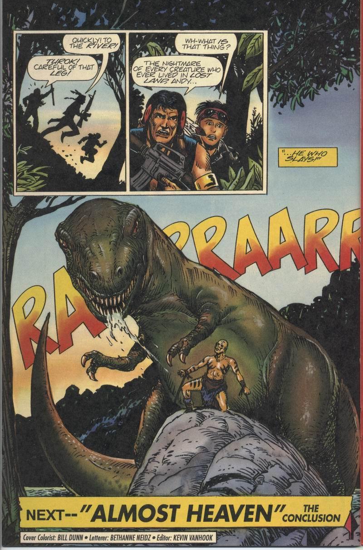 Read online Turok, Dinosaur Hunter (1993) comic -  Issue #8 - 22