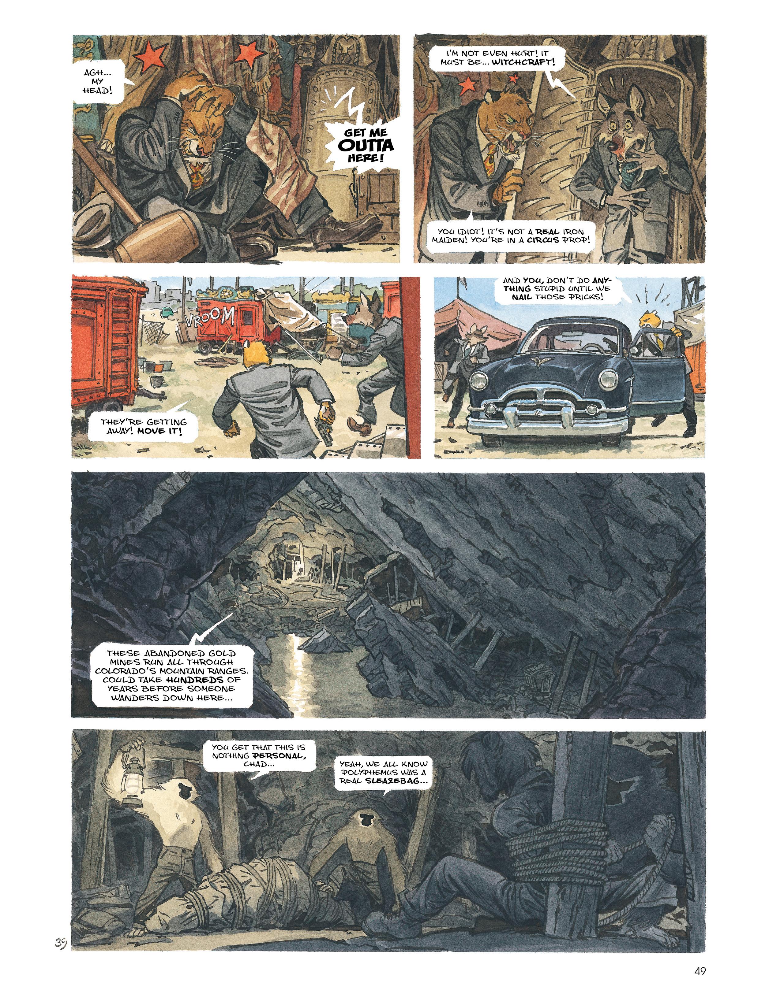 Read online Blacksad: Amarillo comic -  Issue # Full - 48