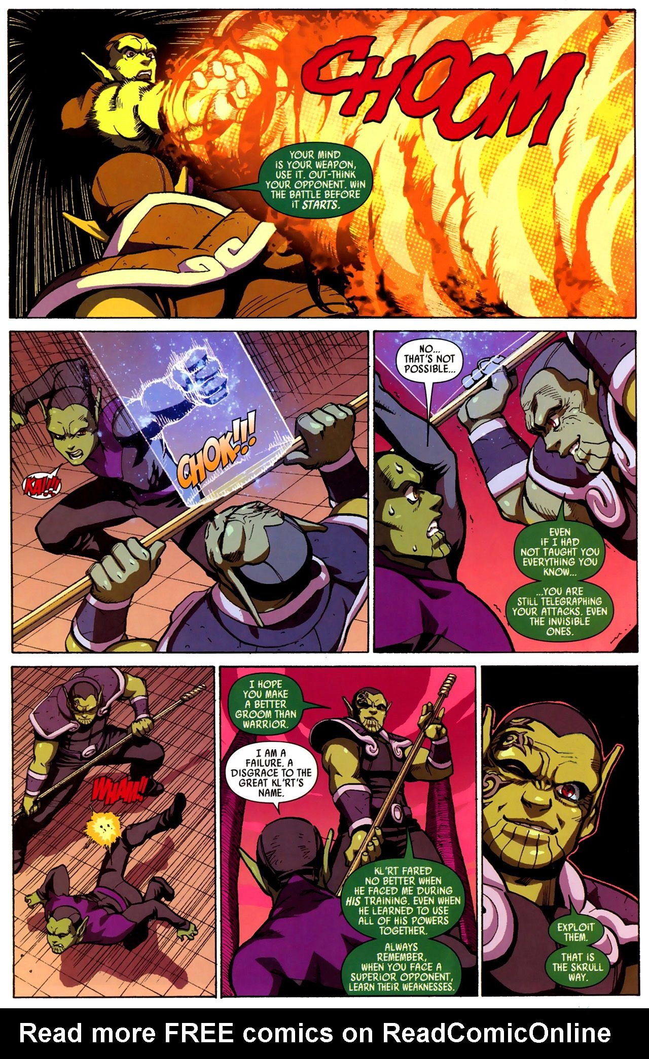Read online Secret Invasion: Runaways/Young Avengers comic -  Issue #3 - 4