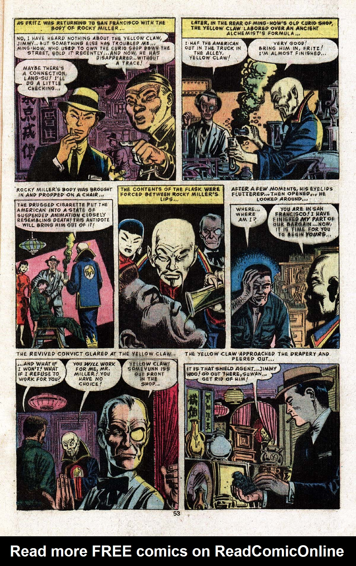 Read online Giant-Size Master of Kung Fu comic -  Issue #2 - 46