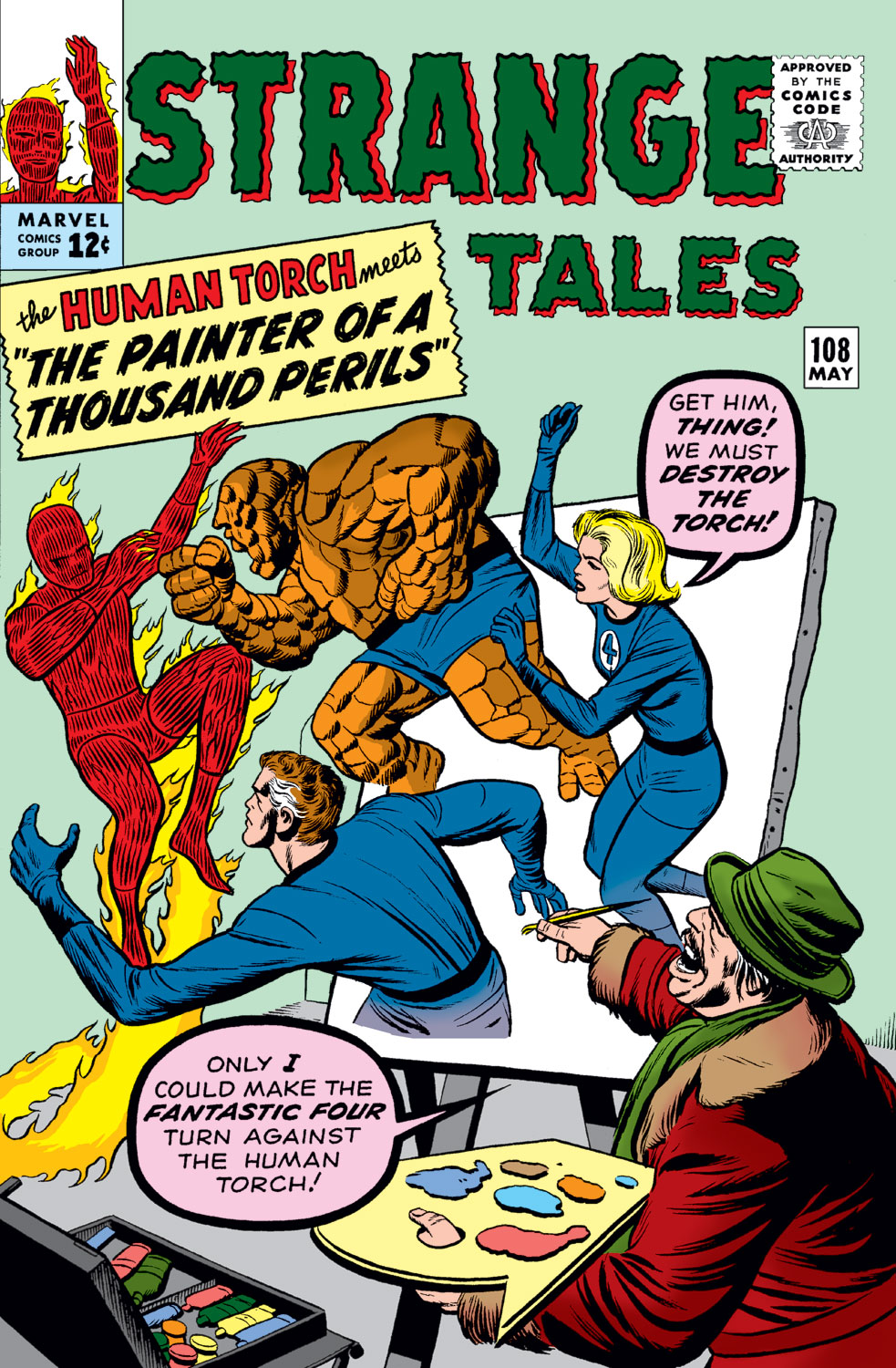 Strange Tales (1951) issue 108 - Page 1
